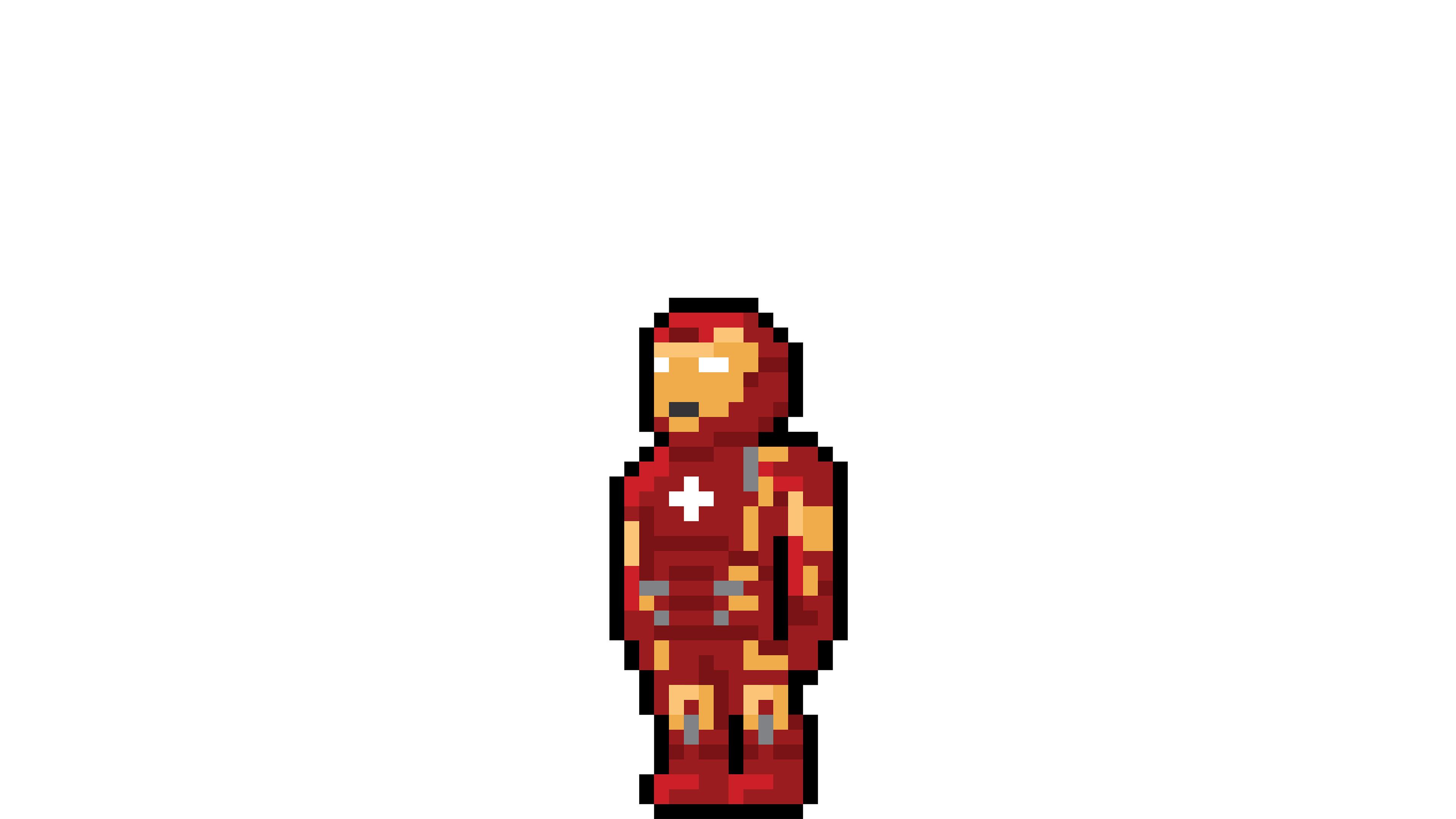 iron man pixel art 1536522577 - Iron Man Pixel Art - superheroes wallpapers, pixel wallpapers, iron man wallpapers, hd-wallpapers, behance wallpapers, artwork wallpapers, artist wallpapers, art wallpapers, 4k-wallpapers