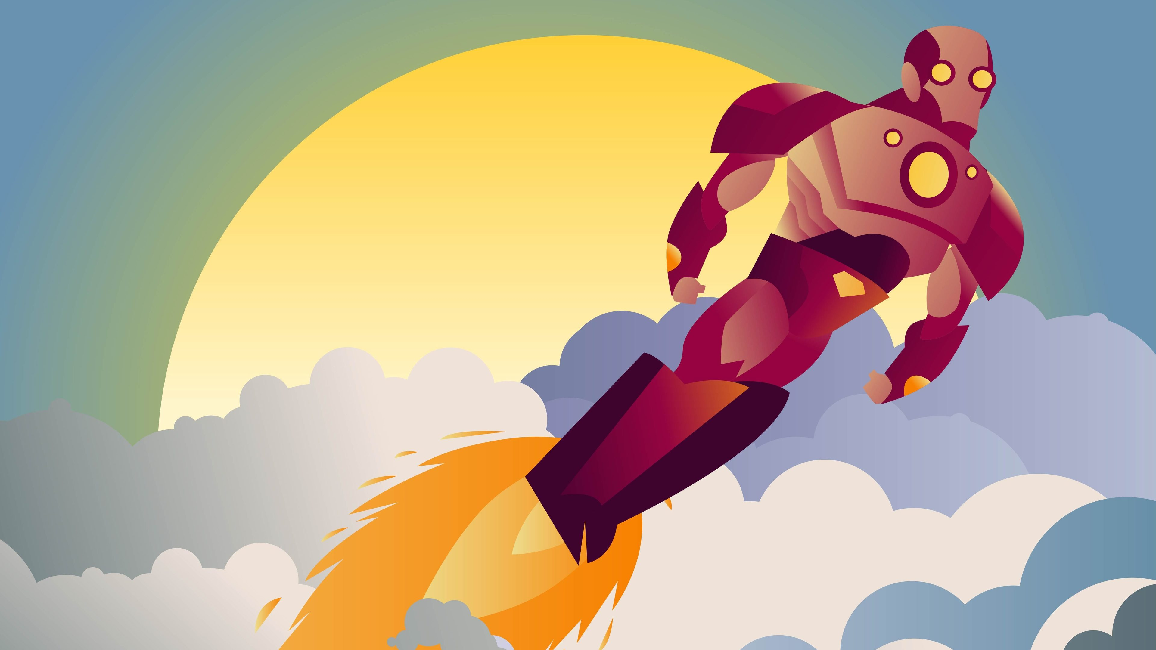 iron man sunset clouds minimalist 1536522774 - Iron Man Sunset Clouds Minimalist - superheroes wallpapers, minimalist wallpapers, minimalism wallpapers, iron man wallpapers, hd-wallpapers, 5k wallpapers, 4k-wallpapers