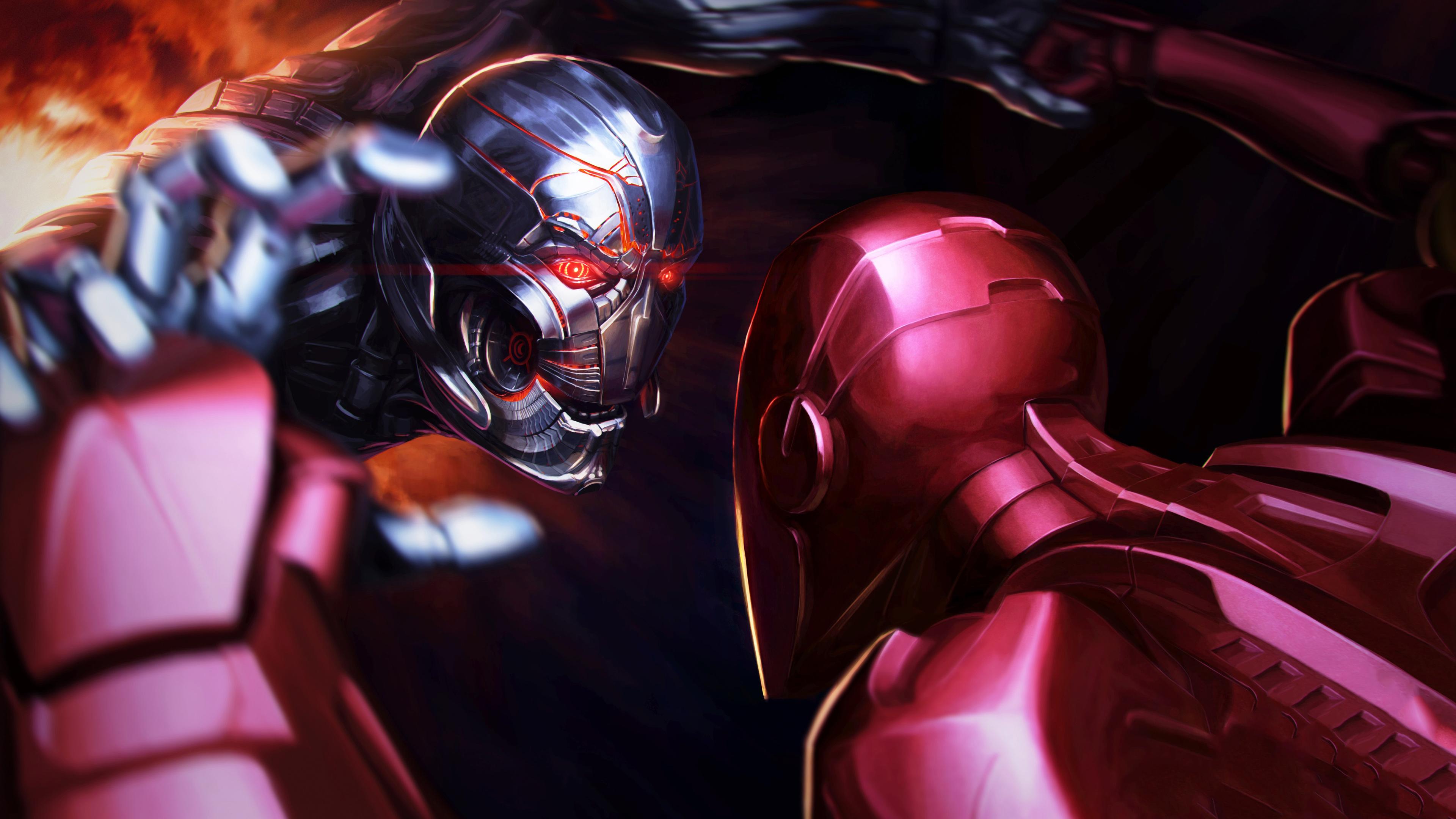 iron man vs thanos 1536522563 - Iron Man Vs Thanos - thanos-wallpapers, superheroes wallpapers, iron man wallpapers, hd-wallpapers, digital art wallpapers, artwork wallpapers, 5k wallpapers, 4k-wallpapers