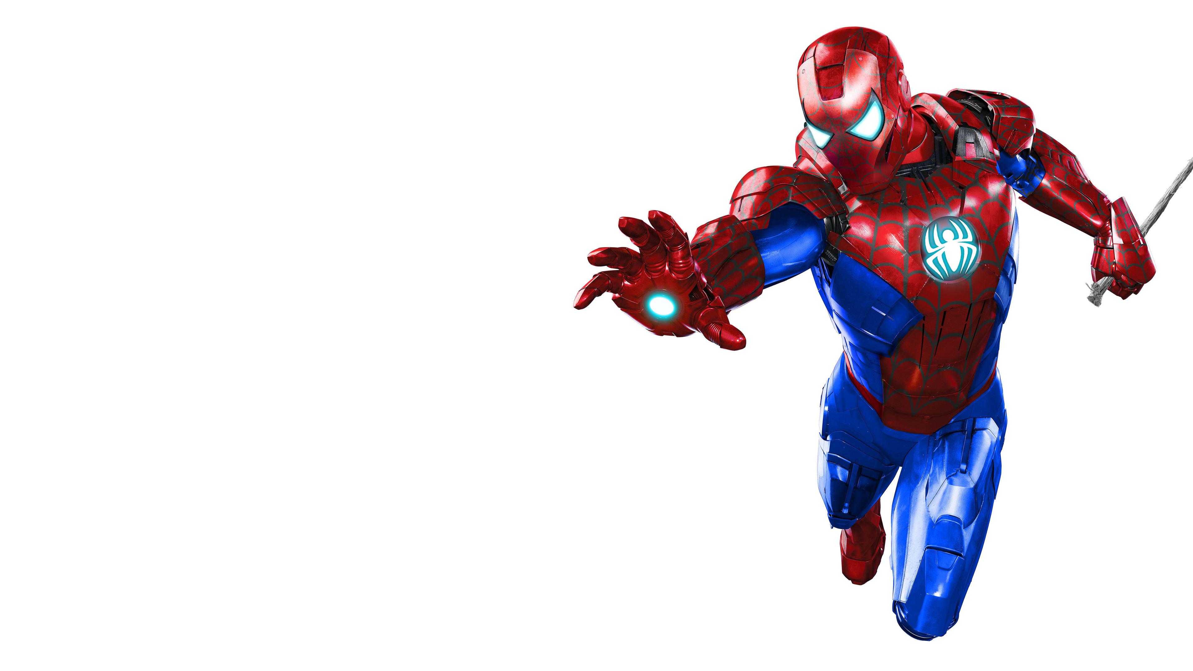 Wallpaper 4k Iron Spider Man Suit 4k Wallpapers 5k
