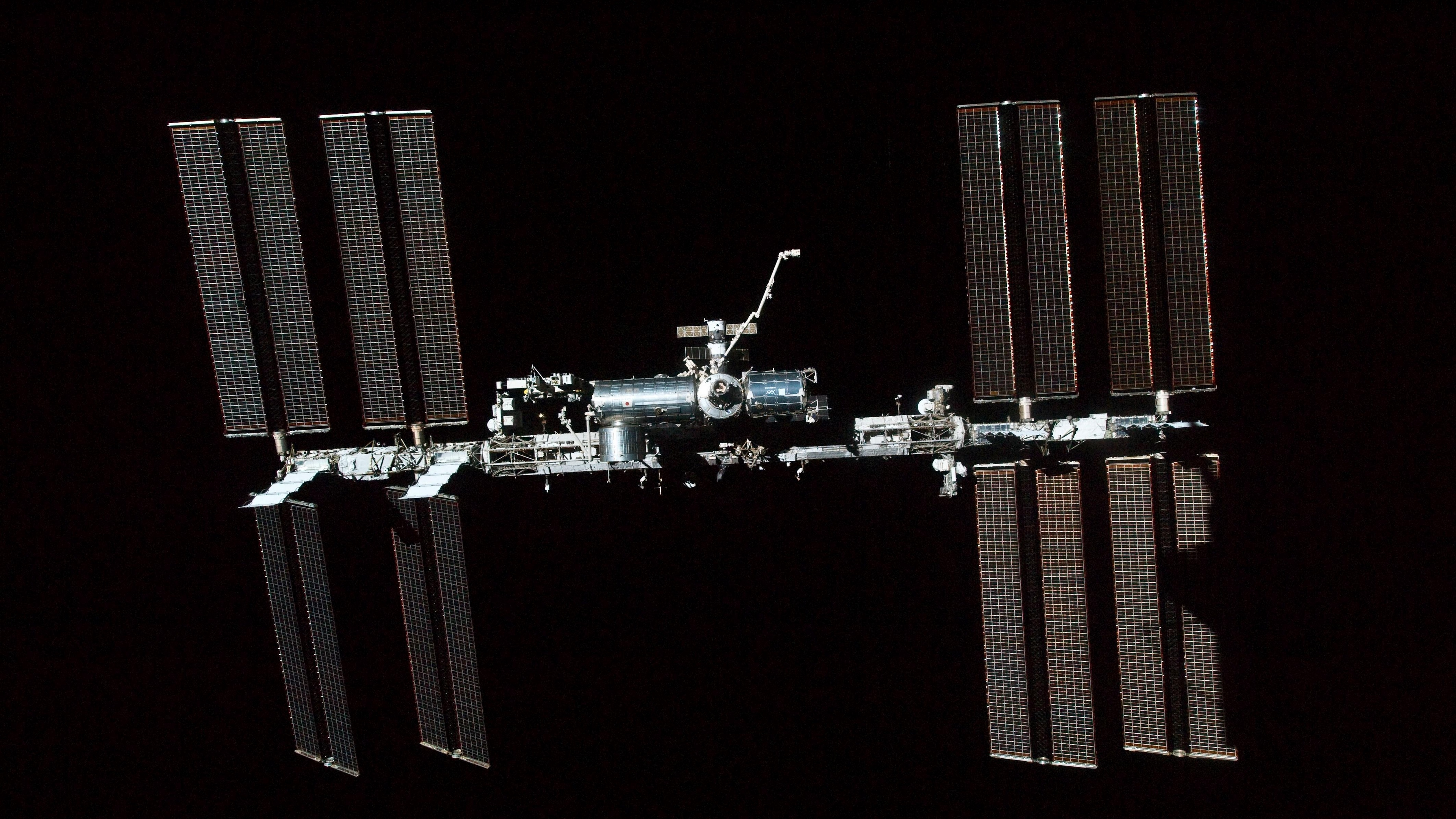iss space solar cells photo 4k 1536013855 - iss, space, solar cells, photo 4k - Space, solar cells, iss