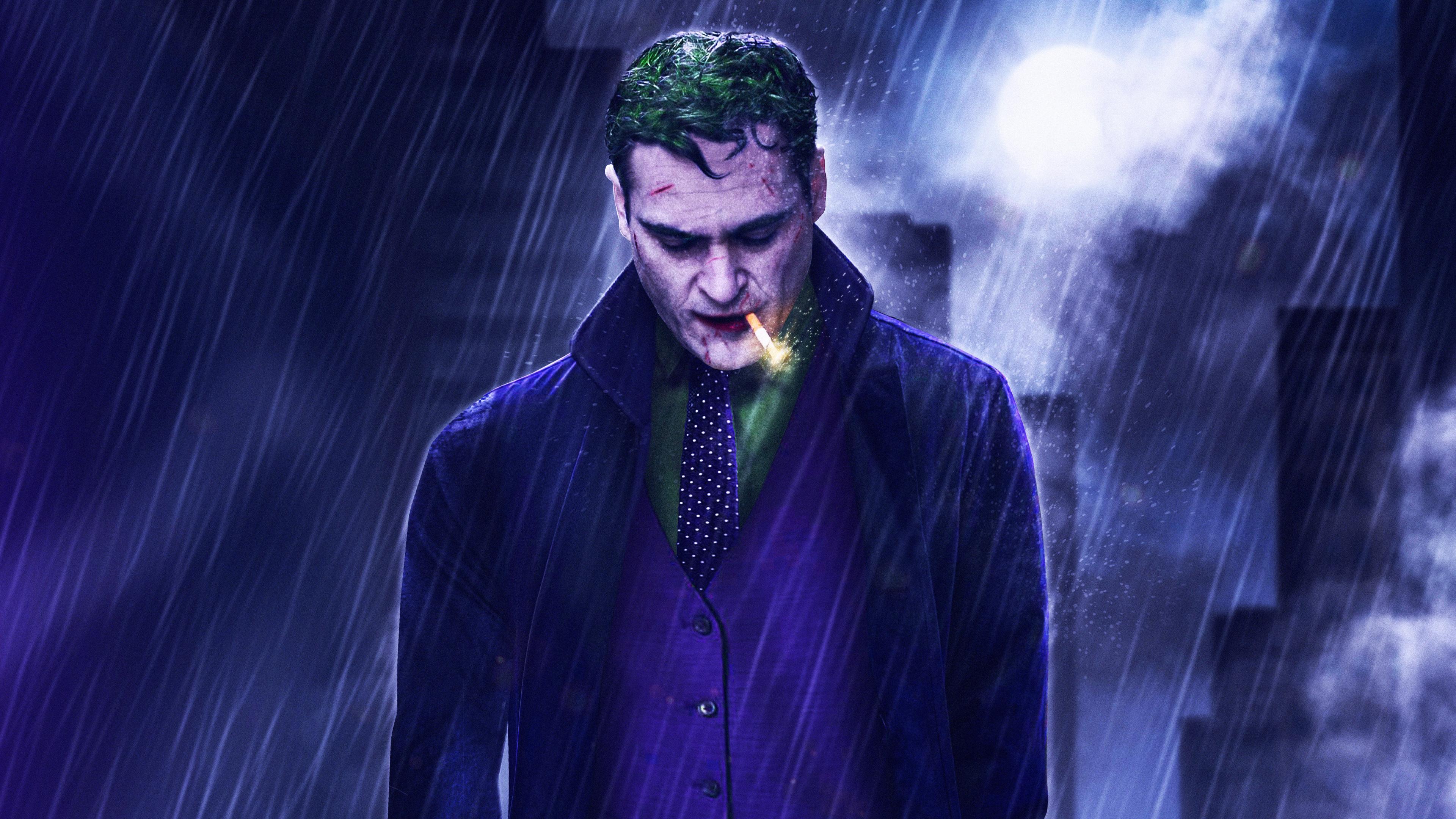 Wallpaper 4k Joaquin Phoenix Joker 2019 Movie 5k 2019 Movies