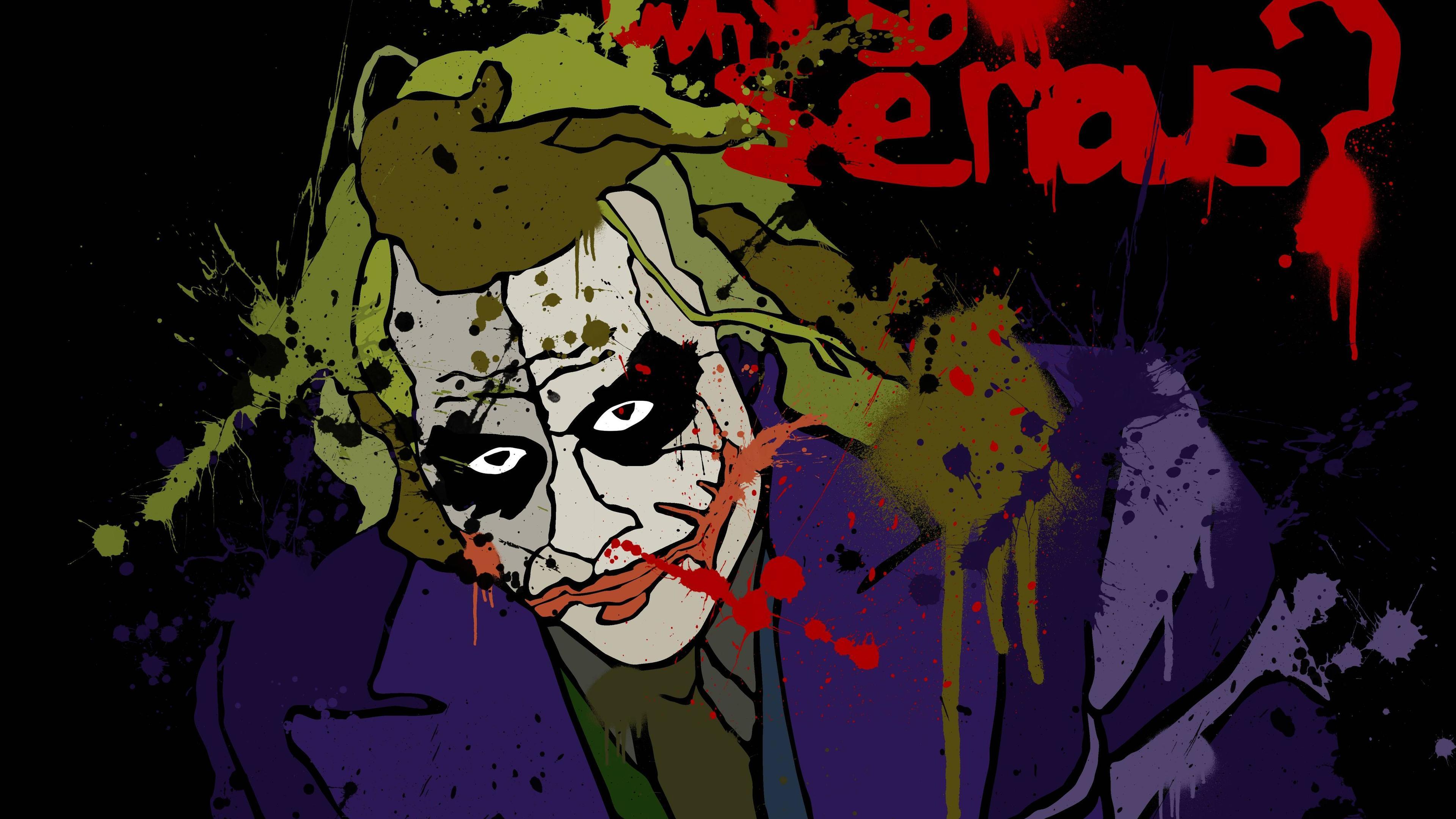 joker 5k art 1536523636 - Joker 5k Art - supervillain wallpapers, superheroes wallpapers, joker wallpapers, hd-wallpapers, digital art wallpapers, artwork wallpapers, 5k wallpapers, 4k-wallpapers