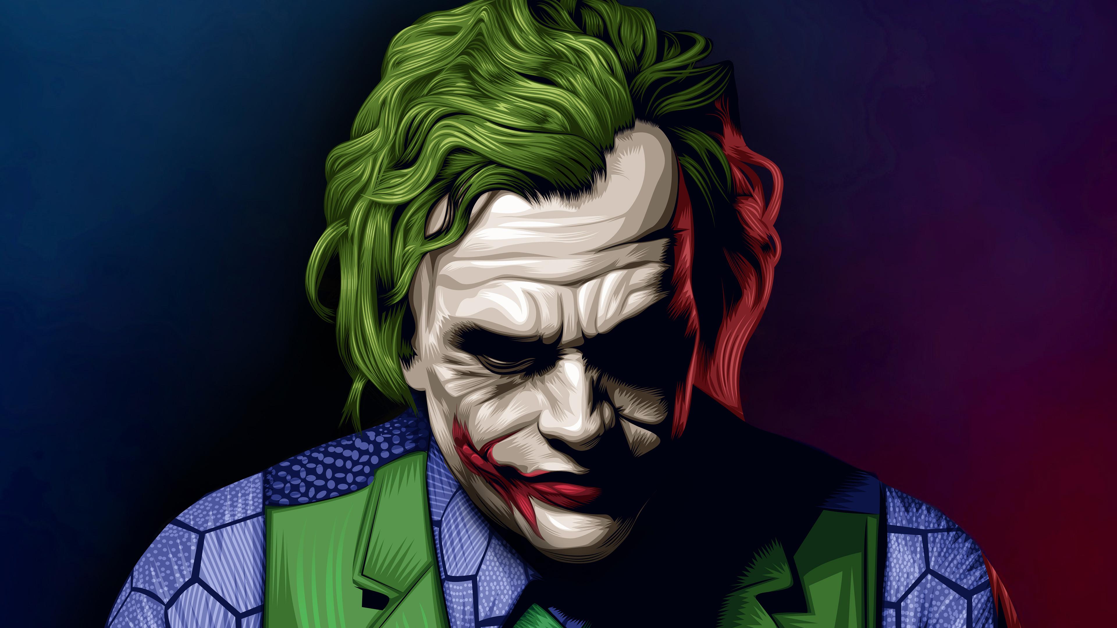 joker heath ledger illustration 1536522551 - Joker Heath Ledger Illustration - superheroes wallpapers, joker wallpapers, hd-wallpapers, digital art wallpapers, behance wallpapers, artwork wallpapers, artist wallpapers, 4k-wallpapers