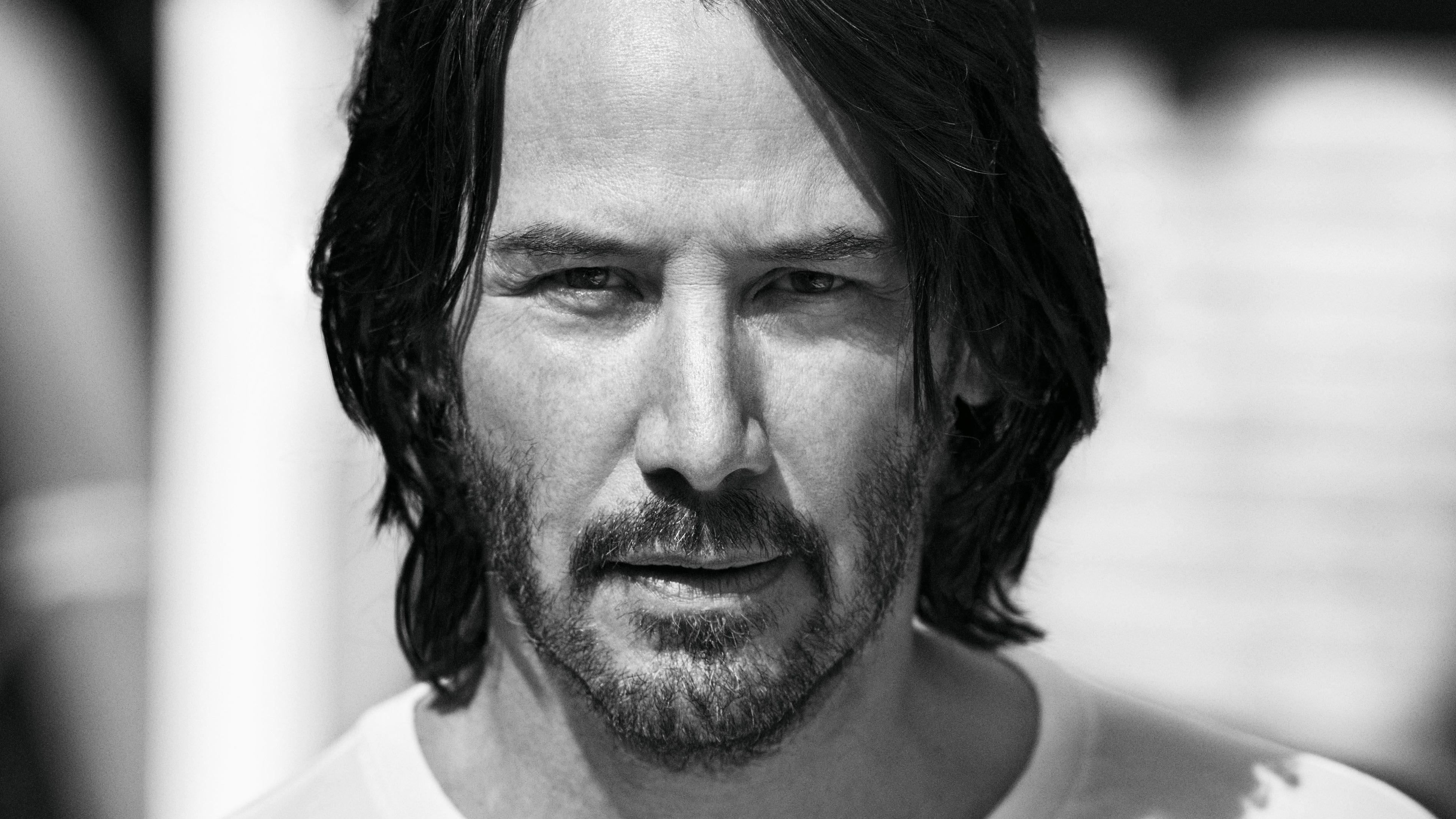 keanu reeves 4k 1536946114 - Keanu Reeves 4k - monochrome wallpapers, male celebrities wallpapers, keanu reeves wallpapers, hd-wallpapers, black and white wallpapers, 4k-wallpapers