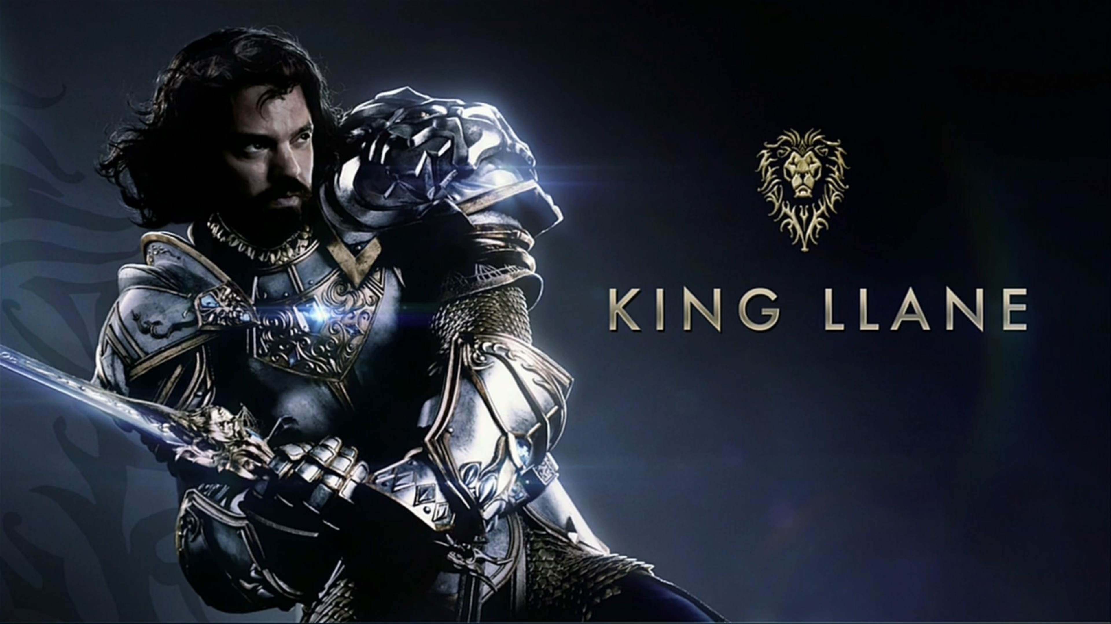 Wallpaper 4k King Llane Warcraft 2016 Movies Wallpapers Movies