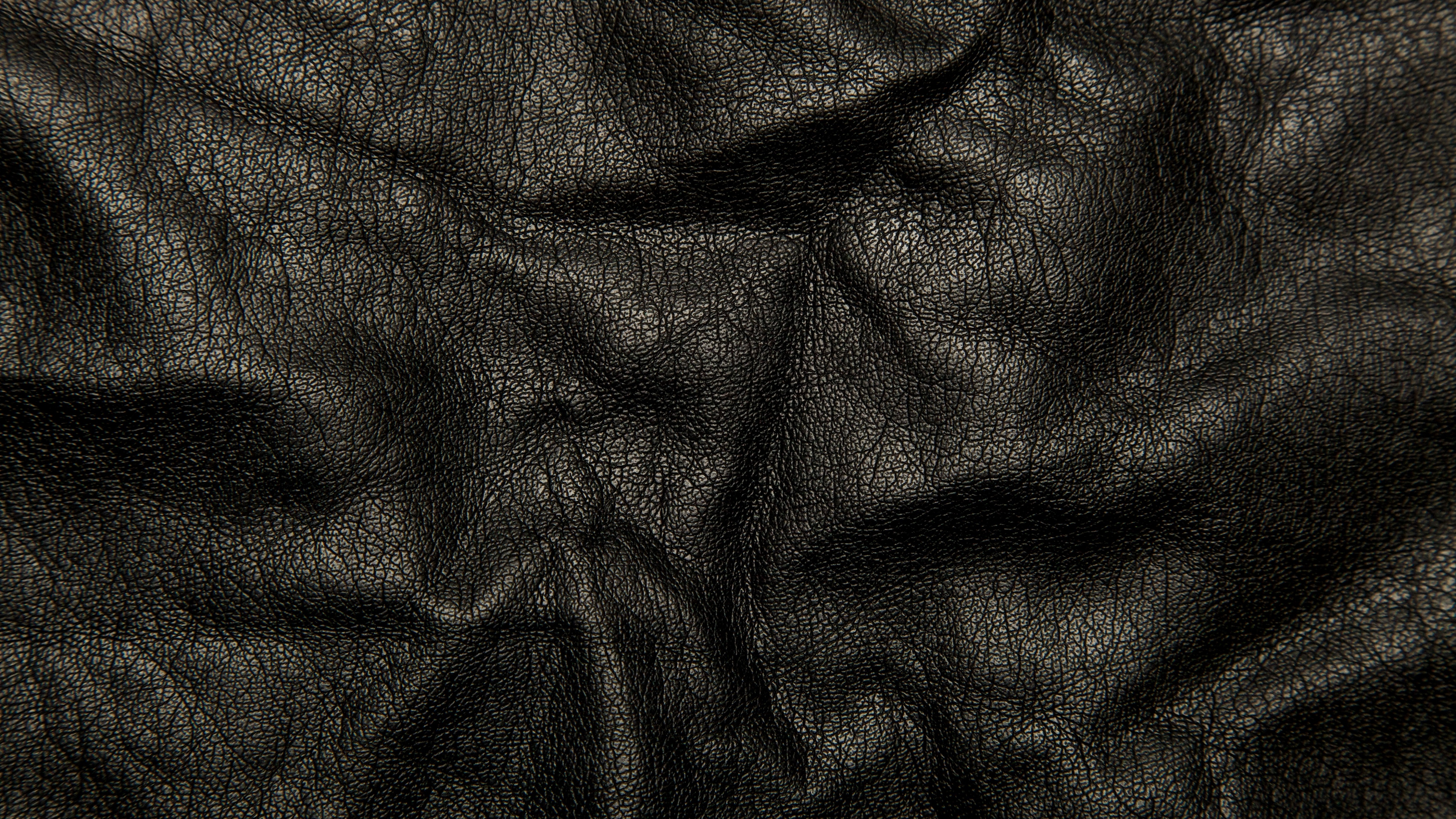 leather black background texture wrinkles cracks 4k 1536097839 - leather, black, background, texture, wrinkles, cracks 4k - leather, Black, Background