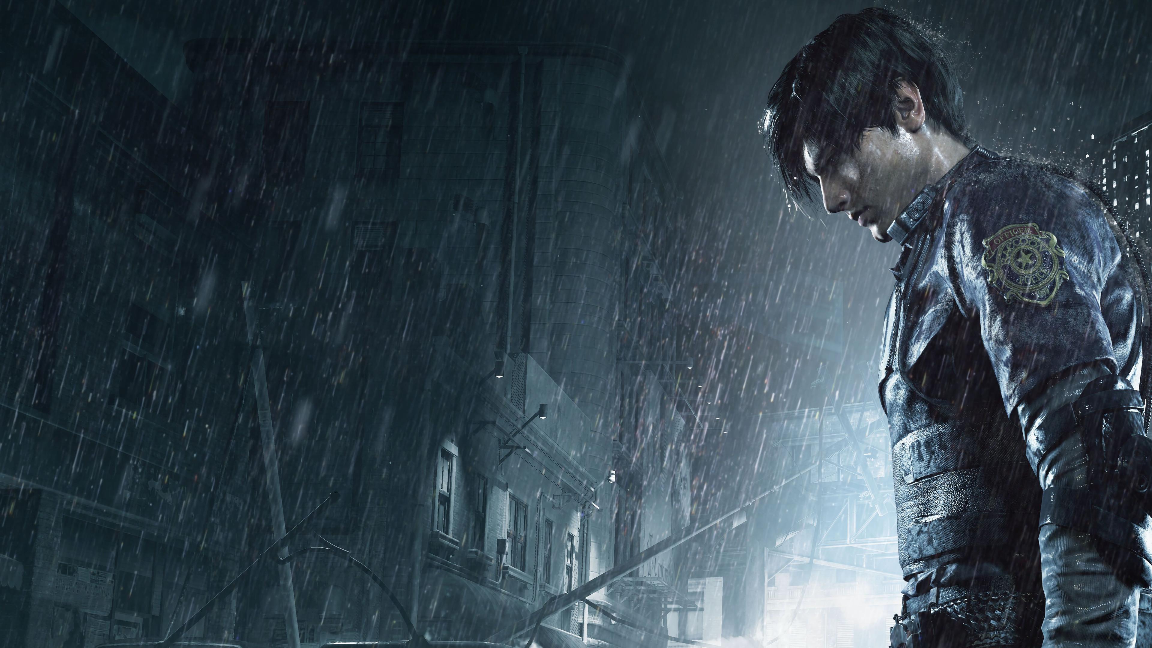 Wallpaper 4k Leon Kennedy Resident Evil 2 2019 Games Wallpapers