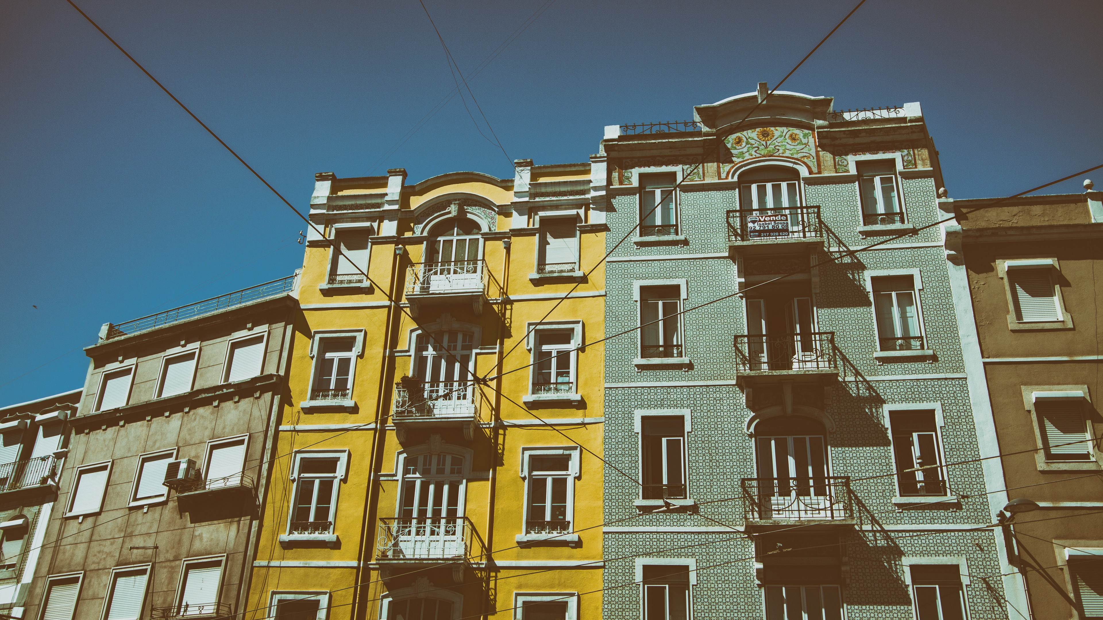 lisbon portugal buildings windows 4k 1538066713 - lisbon, portugal, buildings, windows 4k - Portugal, Lisbon, buildings