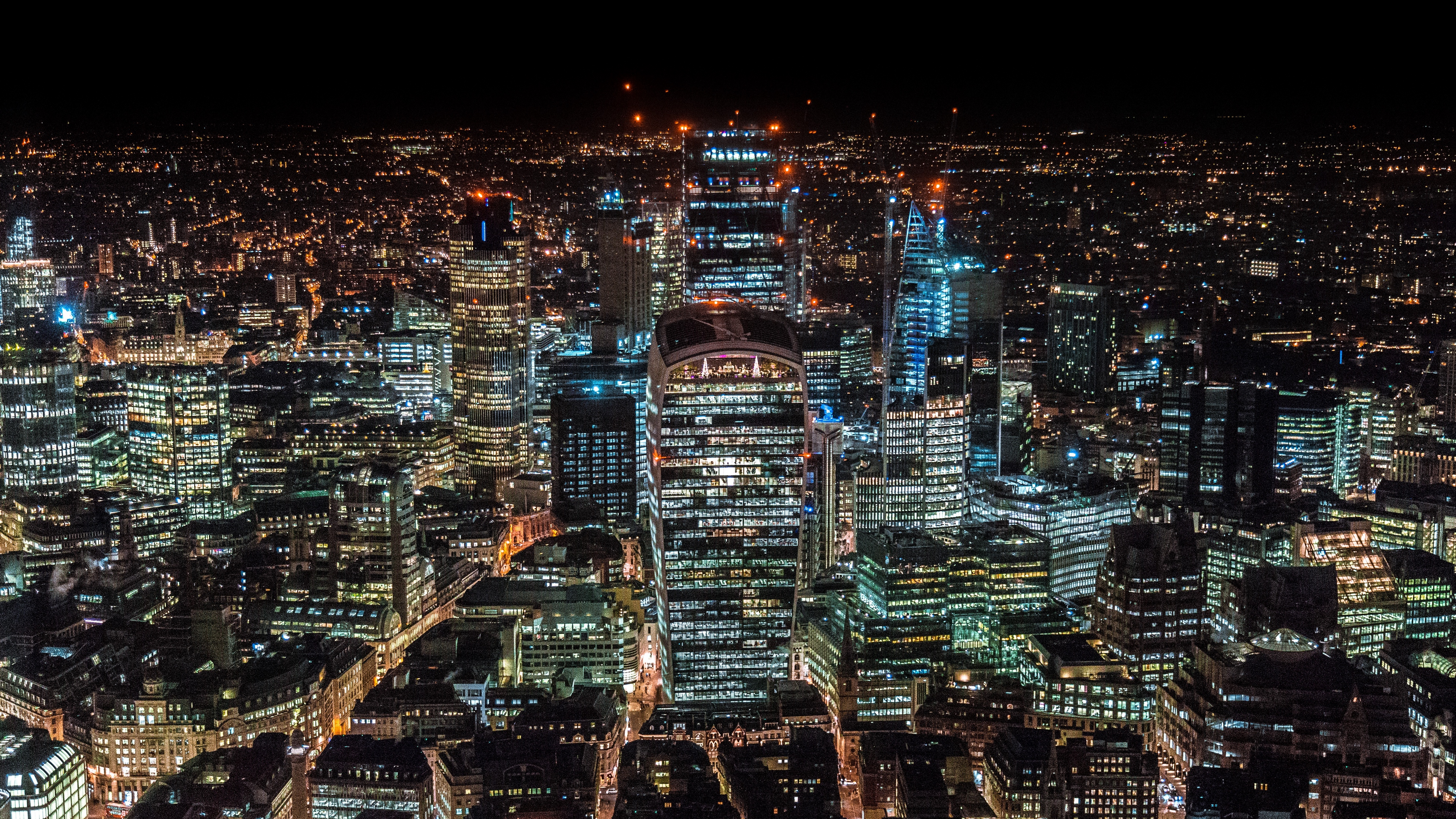london united kingdom skyscrapers top view night city 4k 1538068467 - london, united kingdom, skyscrapers, top view, night city 4k - united kingdom, Skyscrapers, London