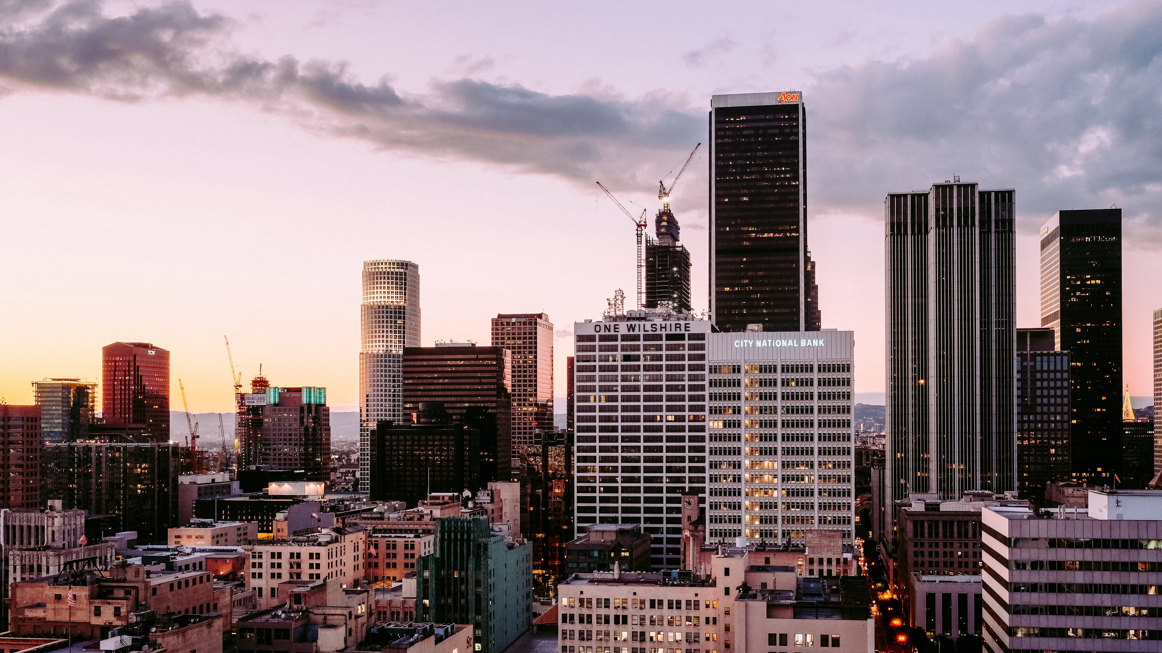los angeles skyscrapers buildings 4k 1538064833 - los angeles, skyscrapers, buildings 4k - Skyscrapers, los angeles, buildings