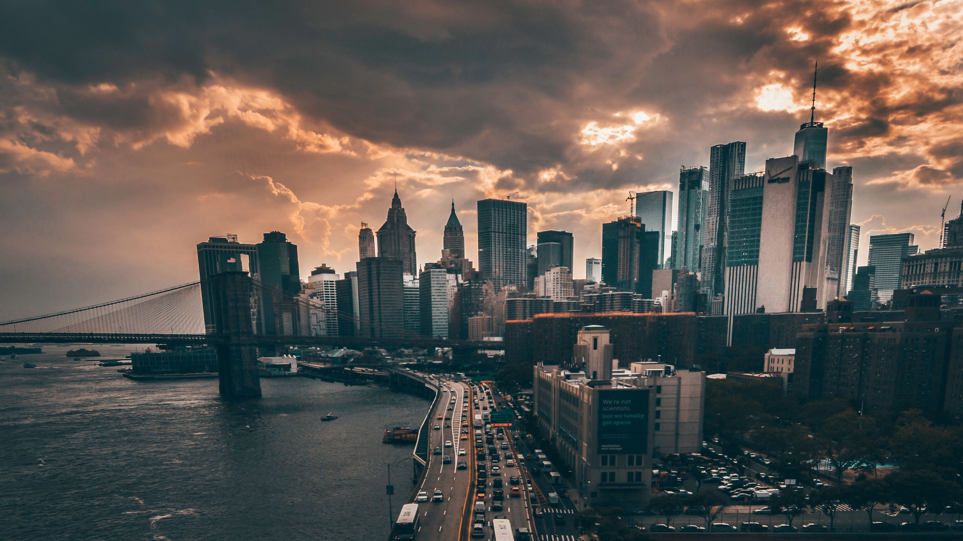 manhattan new york city 4k 1538072025 - Manhattan New York City 4k - world wallpapers, new york wallpapers, manhattan wallpapers, hd-wallpapers, city wallpapers, 4k-wallpapers
