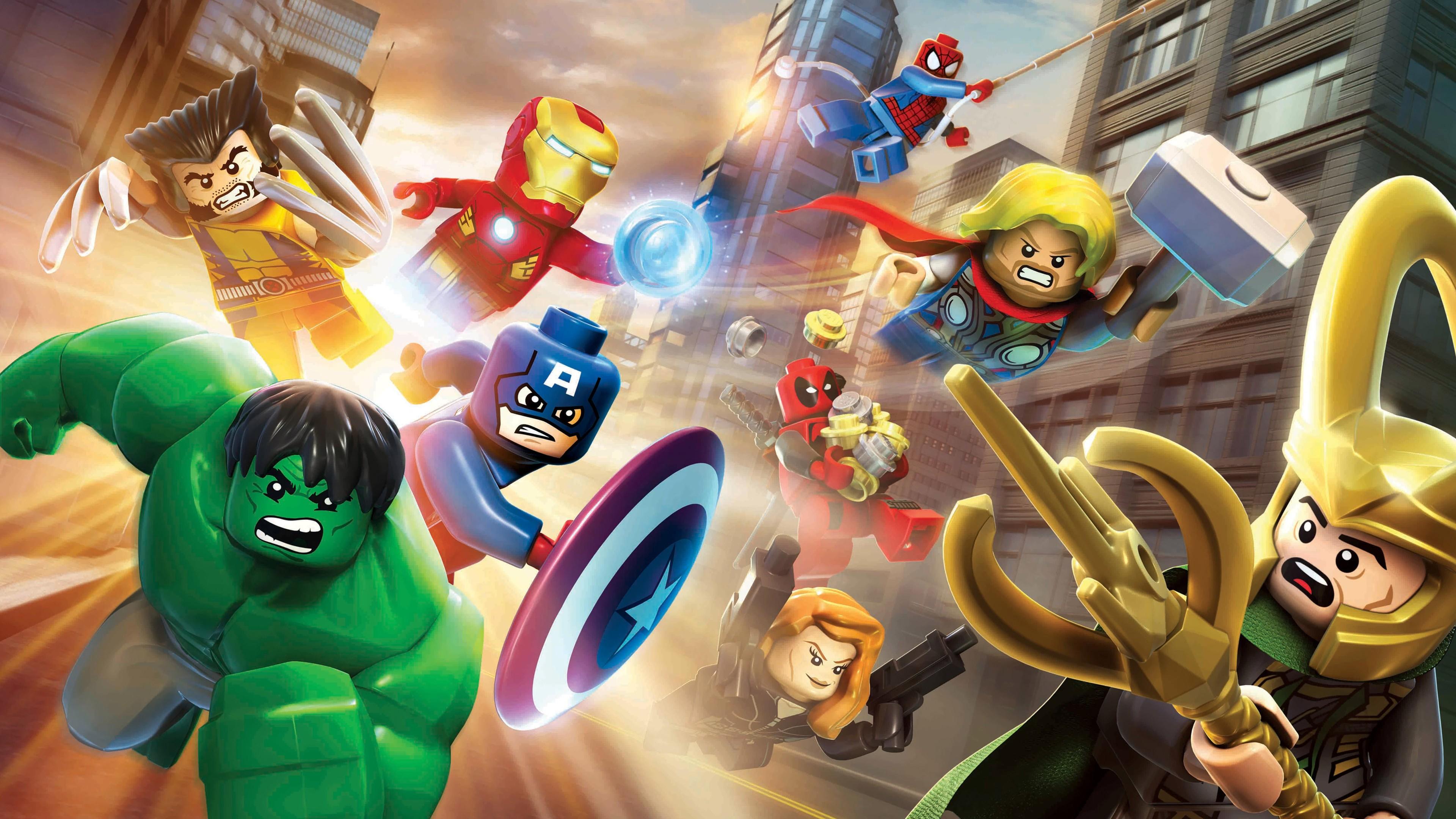 marvel lego superheroes 1536522575 - Marvel Lego Superheroes - thor wallpapers, superheroes wallpapers, marvel wallpapers, loki wallpapers, lego wallpapers, iron man wallpapers, hulk wallpapers, hd-wallpapers, captain america wallpapers, 5k wallpapers, 4k-wallpapers