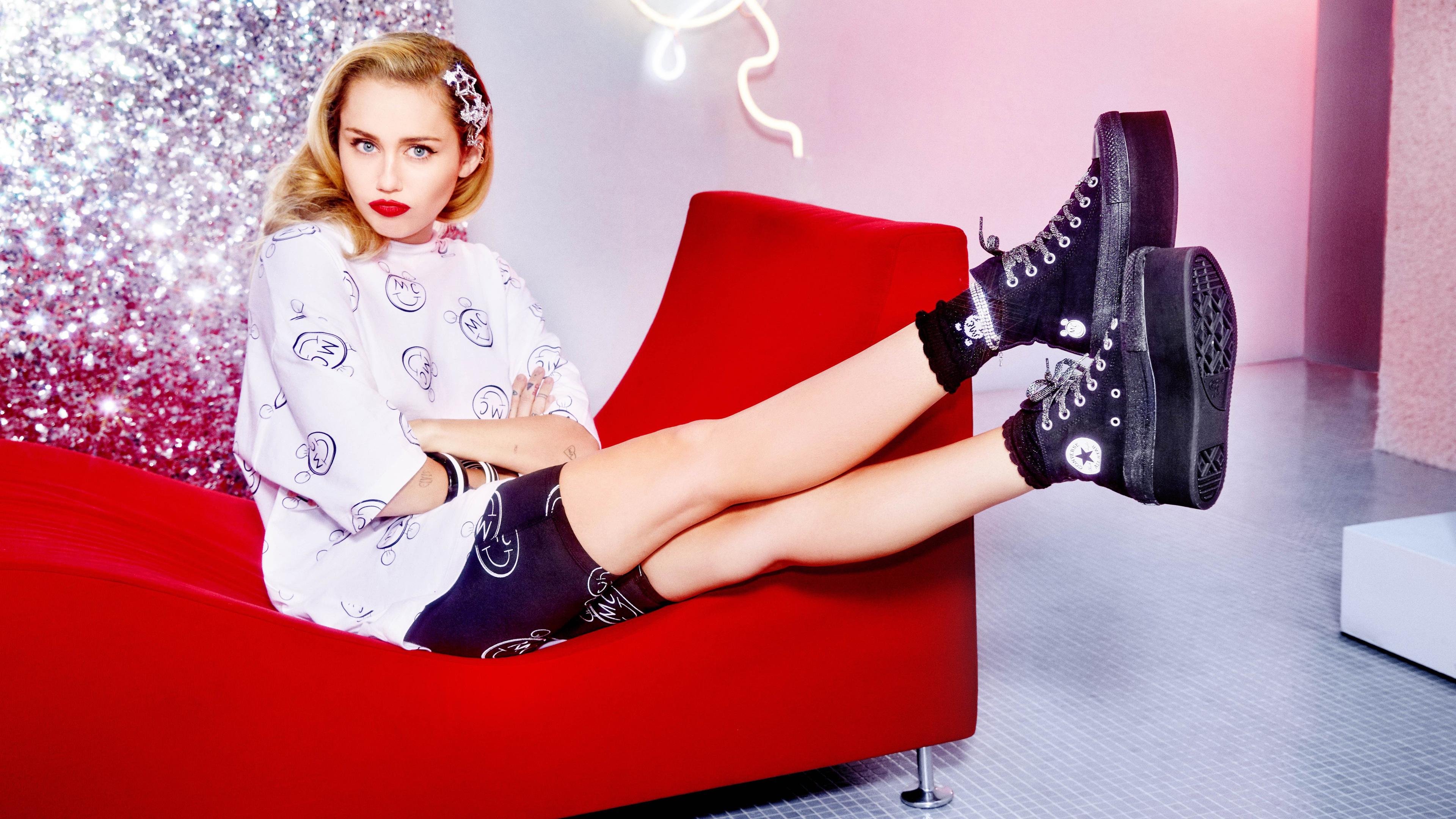 miley cyrus converse x 5k 1536948834 - Miley Cyrus Converse X 5k - singer wallpapers, music wallpapers, miley cyrus wallpapers, hd-wallpapers, girls wallpapers, celebrities wallpapers, 5k wallpapers, 4k-wallpapers