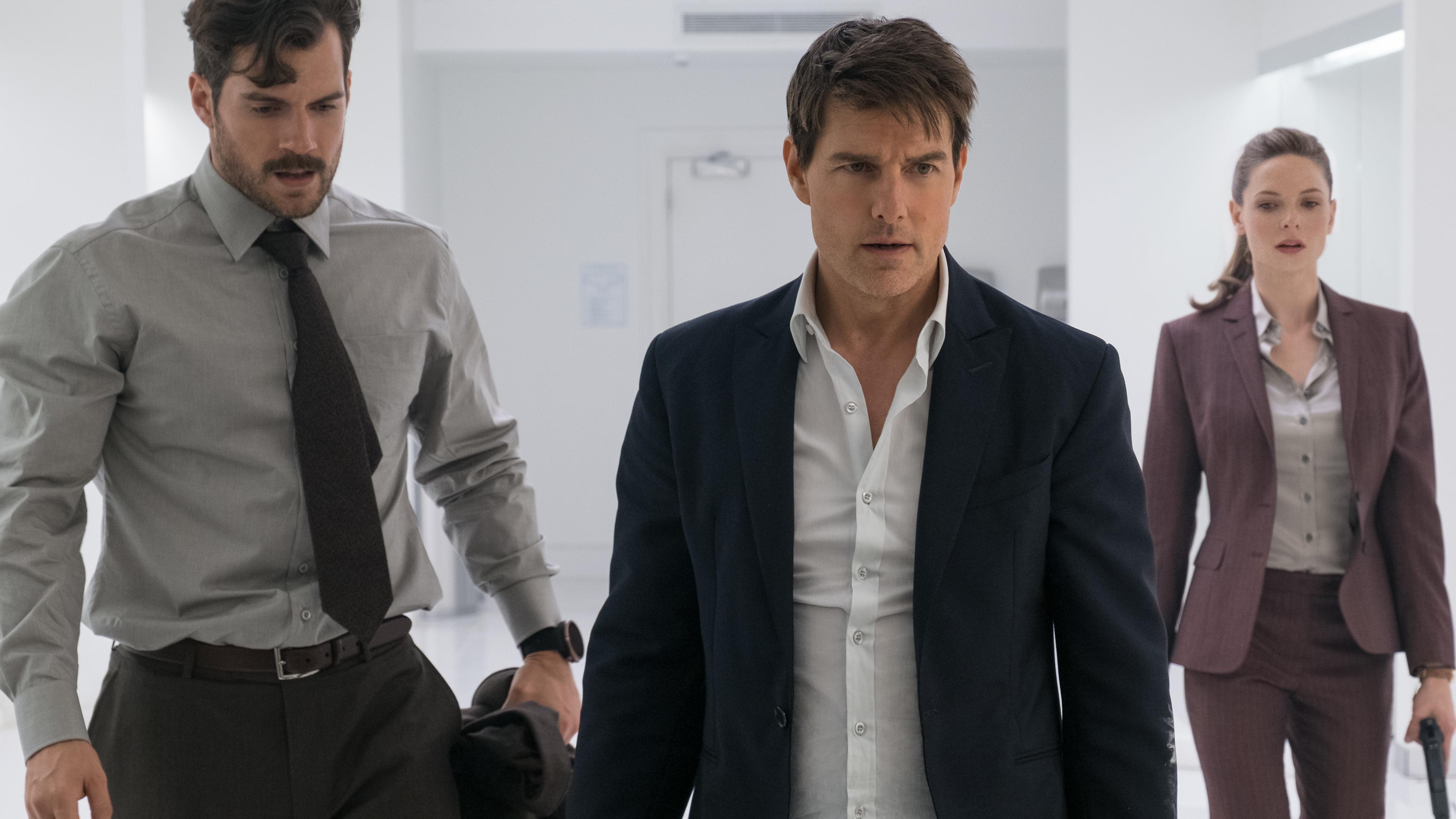 Wallpaper 4k Mission Impossible Fallout Tom Cruise Rebecca