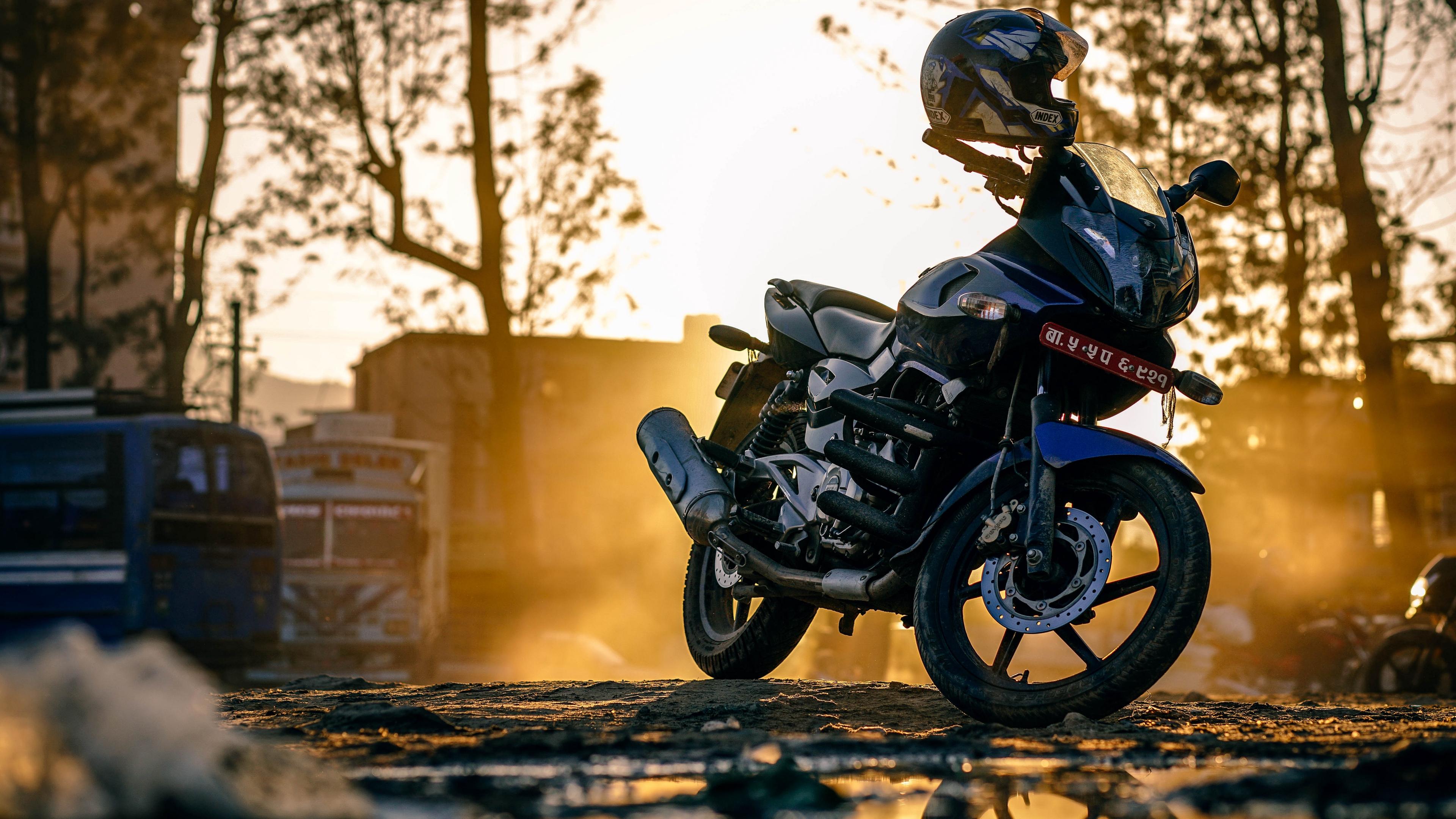 motorcycle helmet street 4k 1536018802 - motorcycle, helmet, street 4k - Street, Motorcycle, helmet
