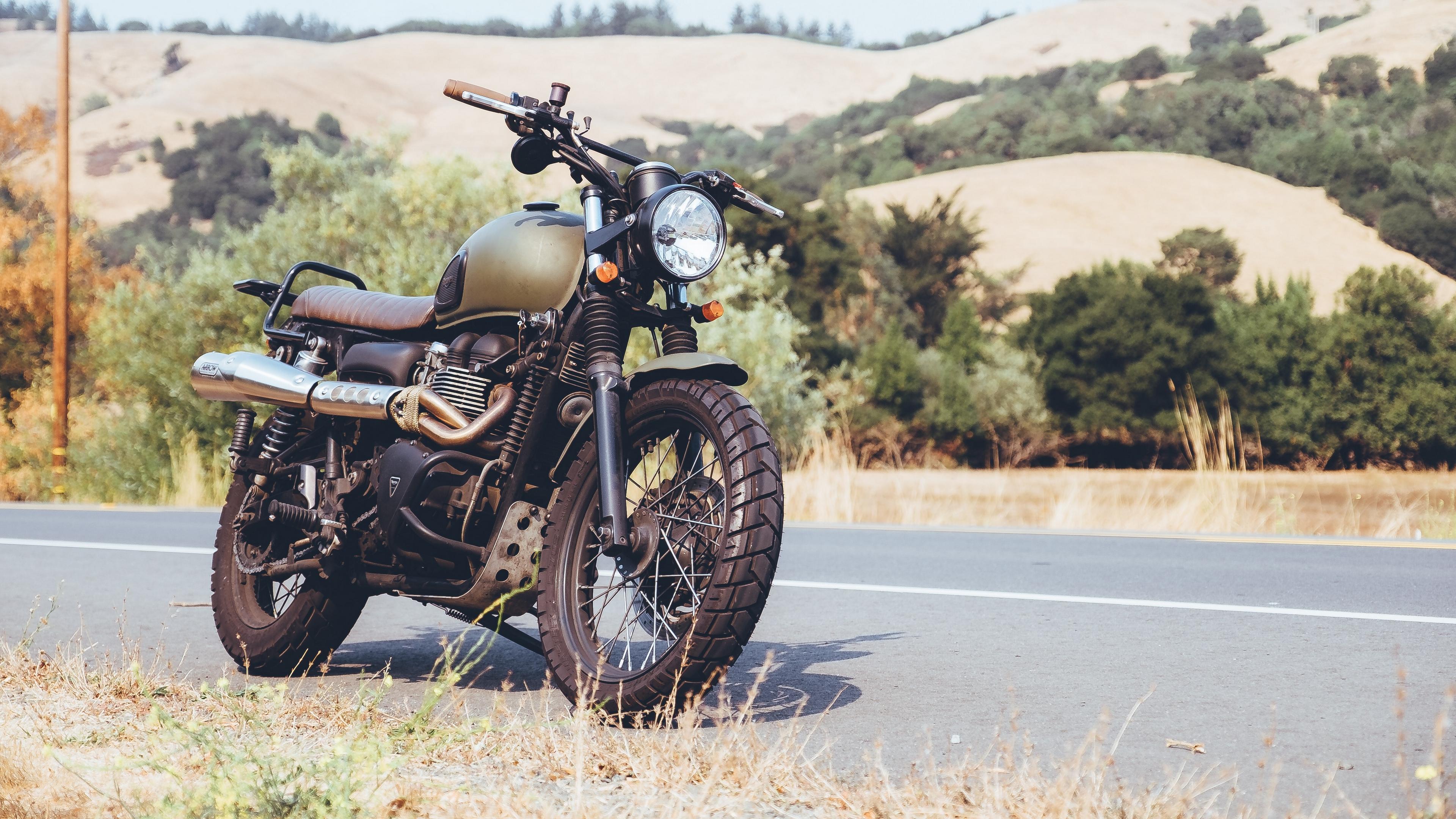 motorcycle side view road 4k 1536018778 - motorcycle, side view, road 4k - side view, Road, Motorcycle