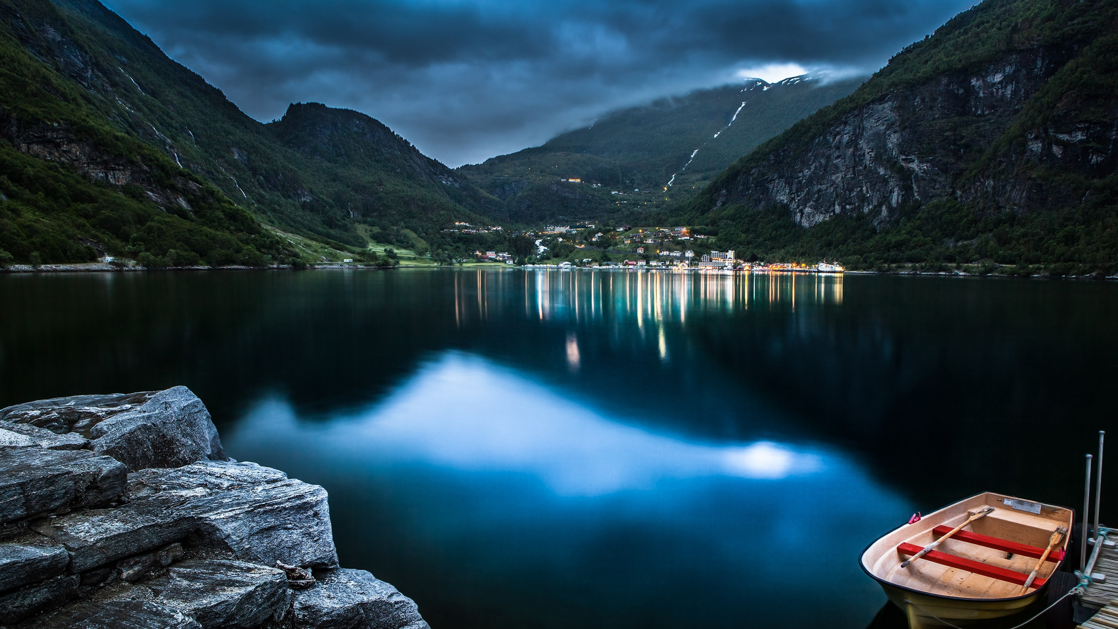 mountain lake beautiful night 1535923995 - Mountain Lake Beautiful Night - nature wallpapers, mountain wallpapers, lake wallpapers, beautiful wallpapers