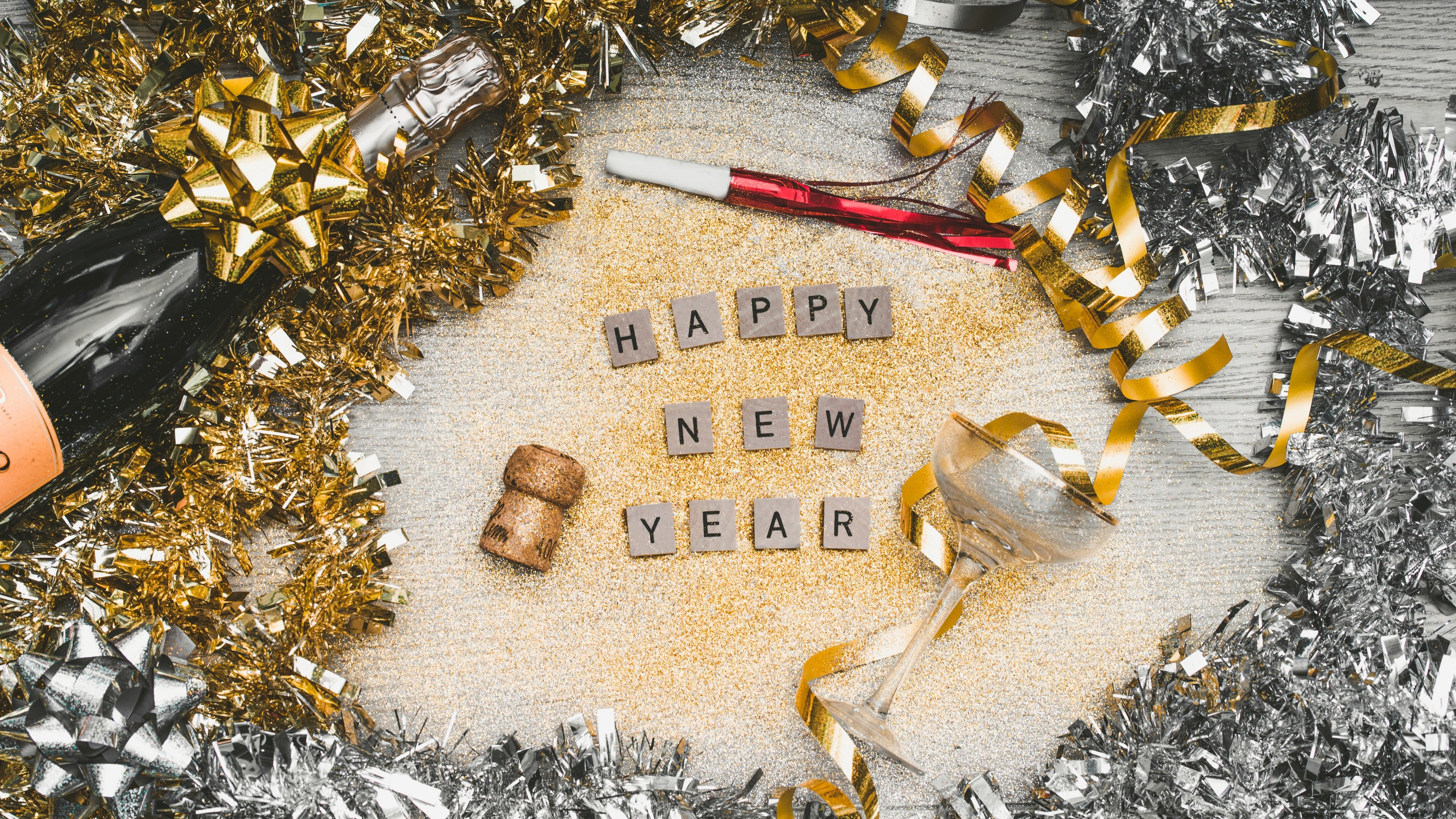 new year sequins letters 4k 1538345165 - new year, sequins, letters 4k - sequins, new year, Letters