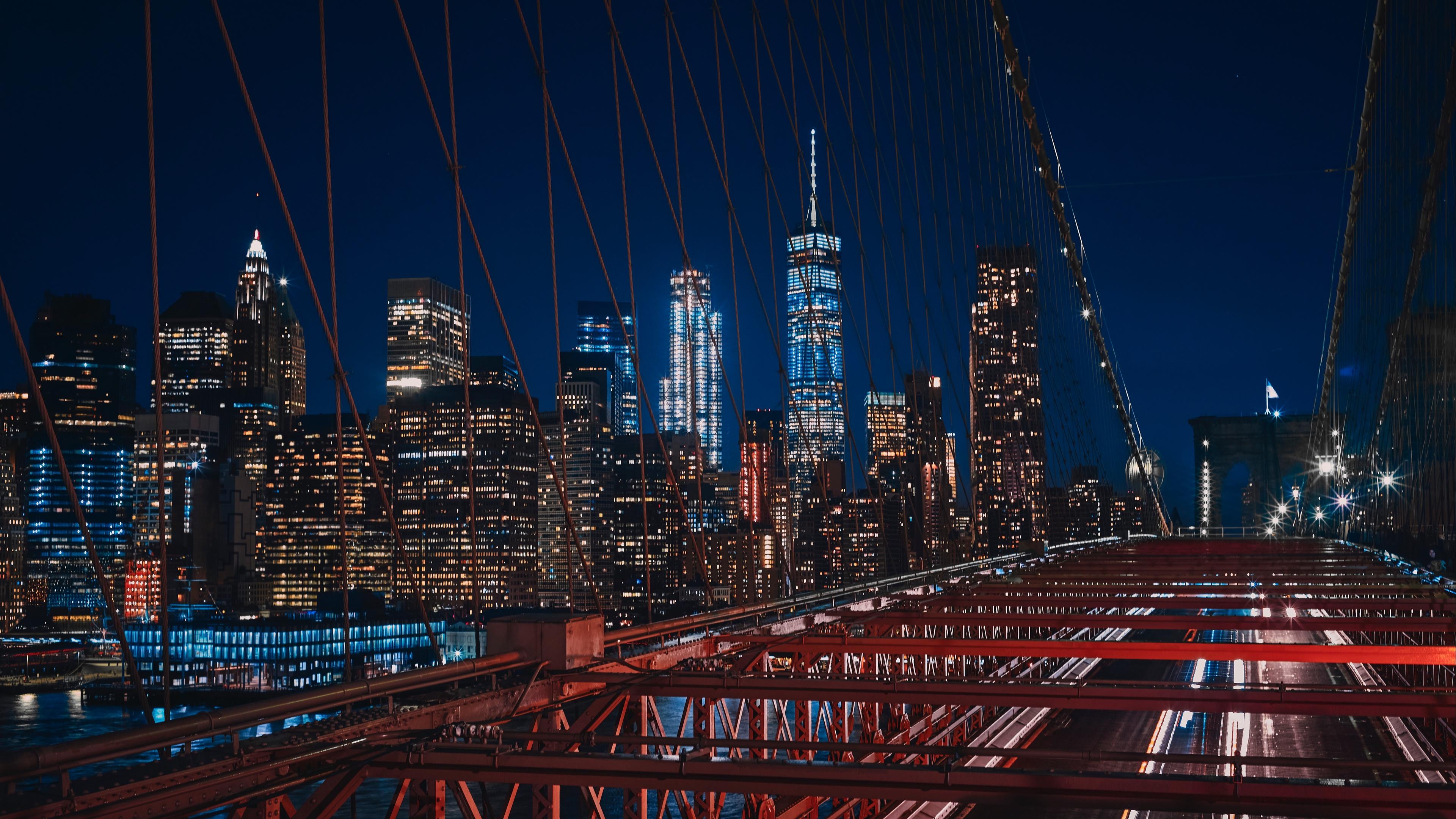 new york brooklyn bridge usa 4k 1538068828 - new york, brooklyn, bridge, usa 4k - new york, Brooklyn, bridge