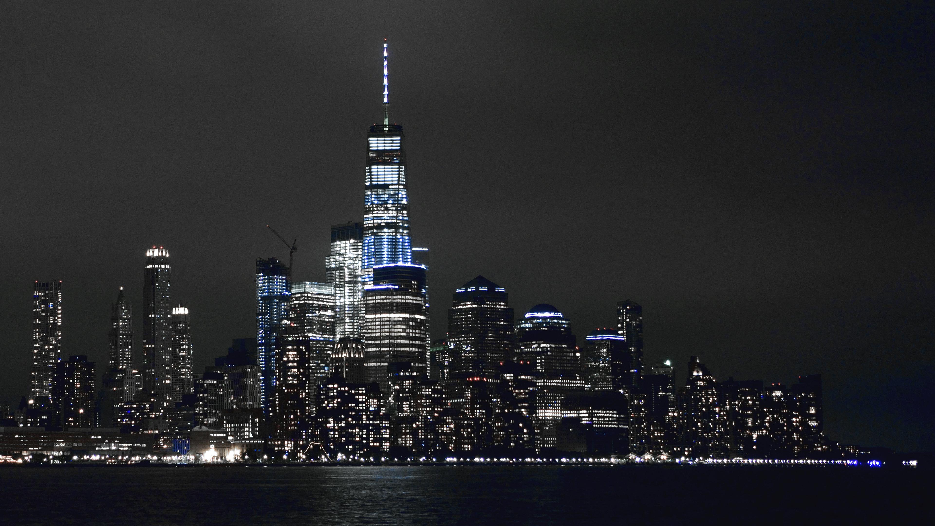 new york buildings lights 5k 1538069570 - New York Buildings Lights 5k - world wallpapers, night wallpapers, new york wallpapers, lights wallpapers, hd-wallpapers, buildings wallpapers, 8k wallpapers, 5k wallpapers, 4k-wallpapers, 10k wallpapers