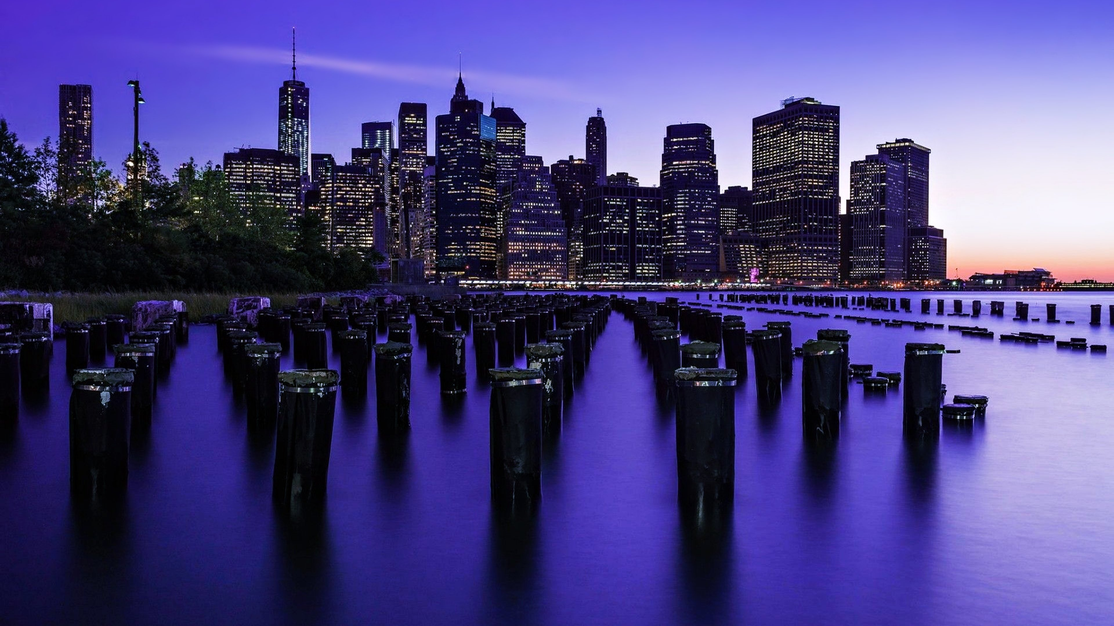 new york city skyscrapers buildings lights sky 1538069534 - New York City Skyscrapers Buildings Lights Sky - world wallpapers, skycrapper wallpapers, sky wallpapers, new york wallpapers, hd-wallpapers, city wallpapers, 4k-wallpapers