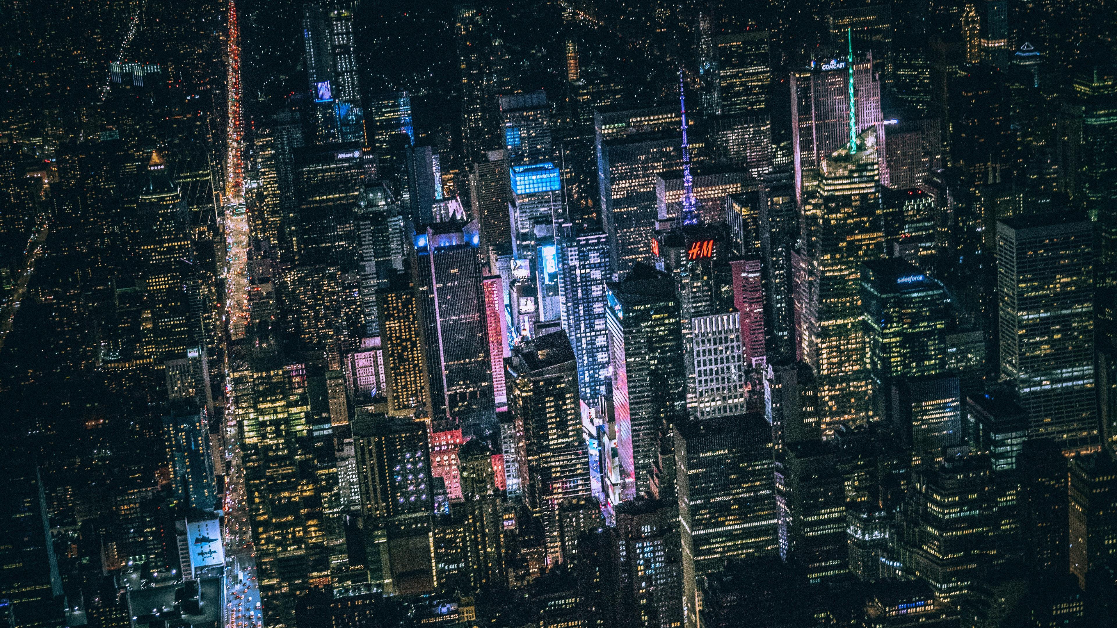 new york dark city night lights buildings view from top 5k 1538070275 - New York Dark City Night Lights Buildings View From Top 5k - world wallpapers, night wallpapers, new york wallpapers, lights wallpapers, hd-wallpapers, city wallpapers, 5k wallpapers, 4k-wallpapers