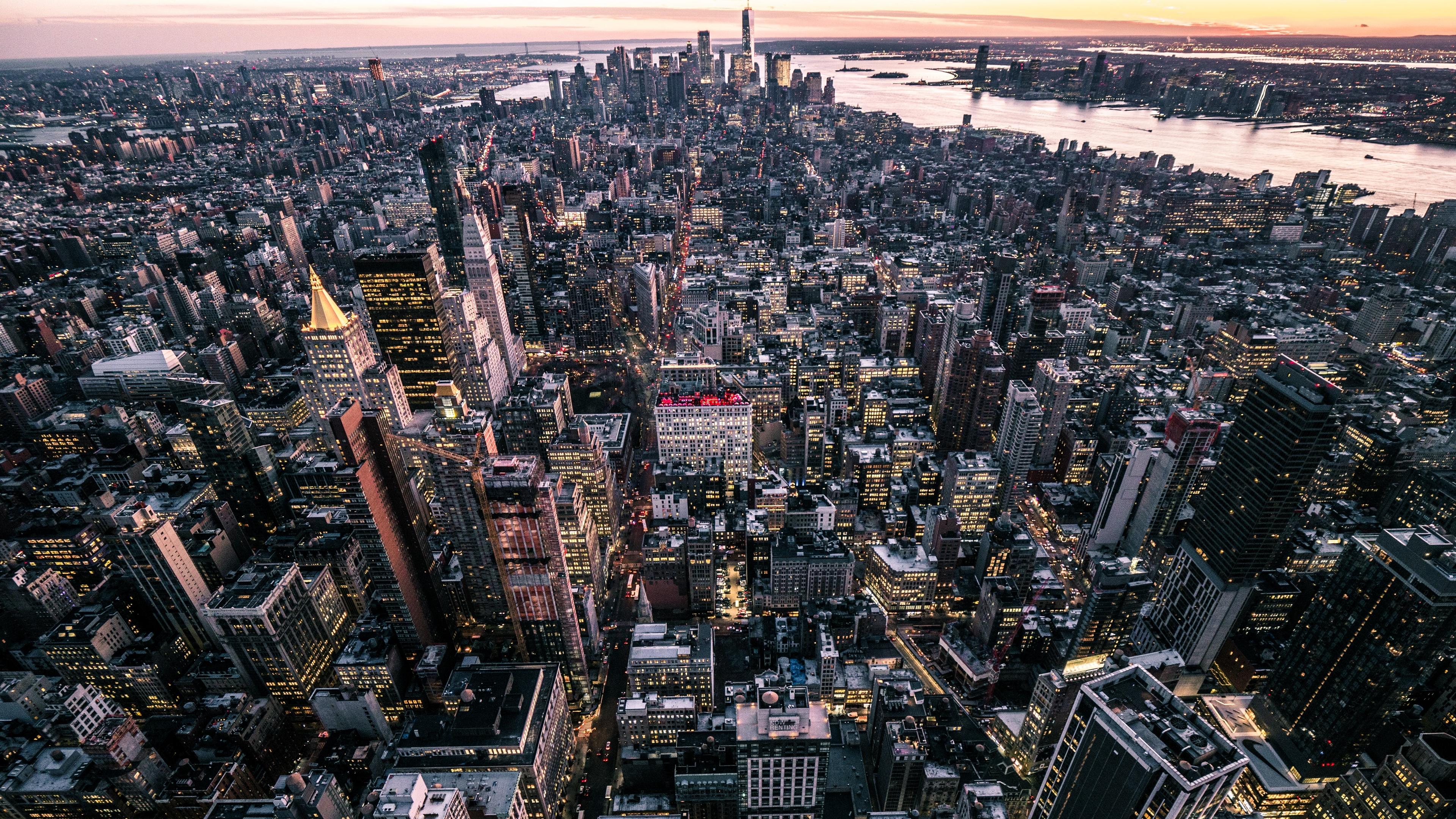 new york usa city top view 4k 1538068865 - new york, usa, city, top view 4k - USA, new york, City