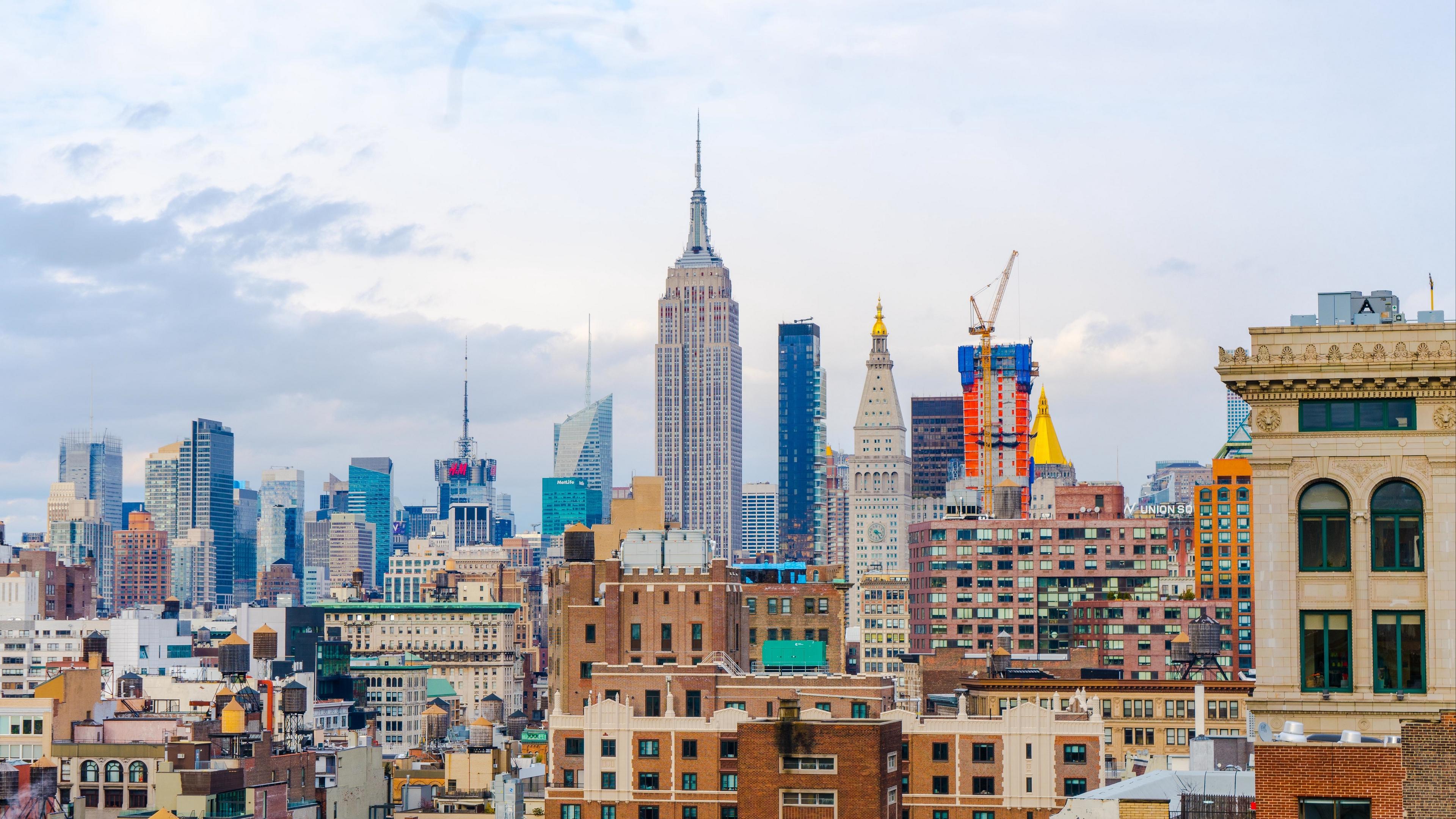 new york usa skyscrapers buildings 4k 1538067933 - new york, usa, skyscrapers, buildings 4k - USA, Skyscrapers, new york