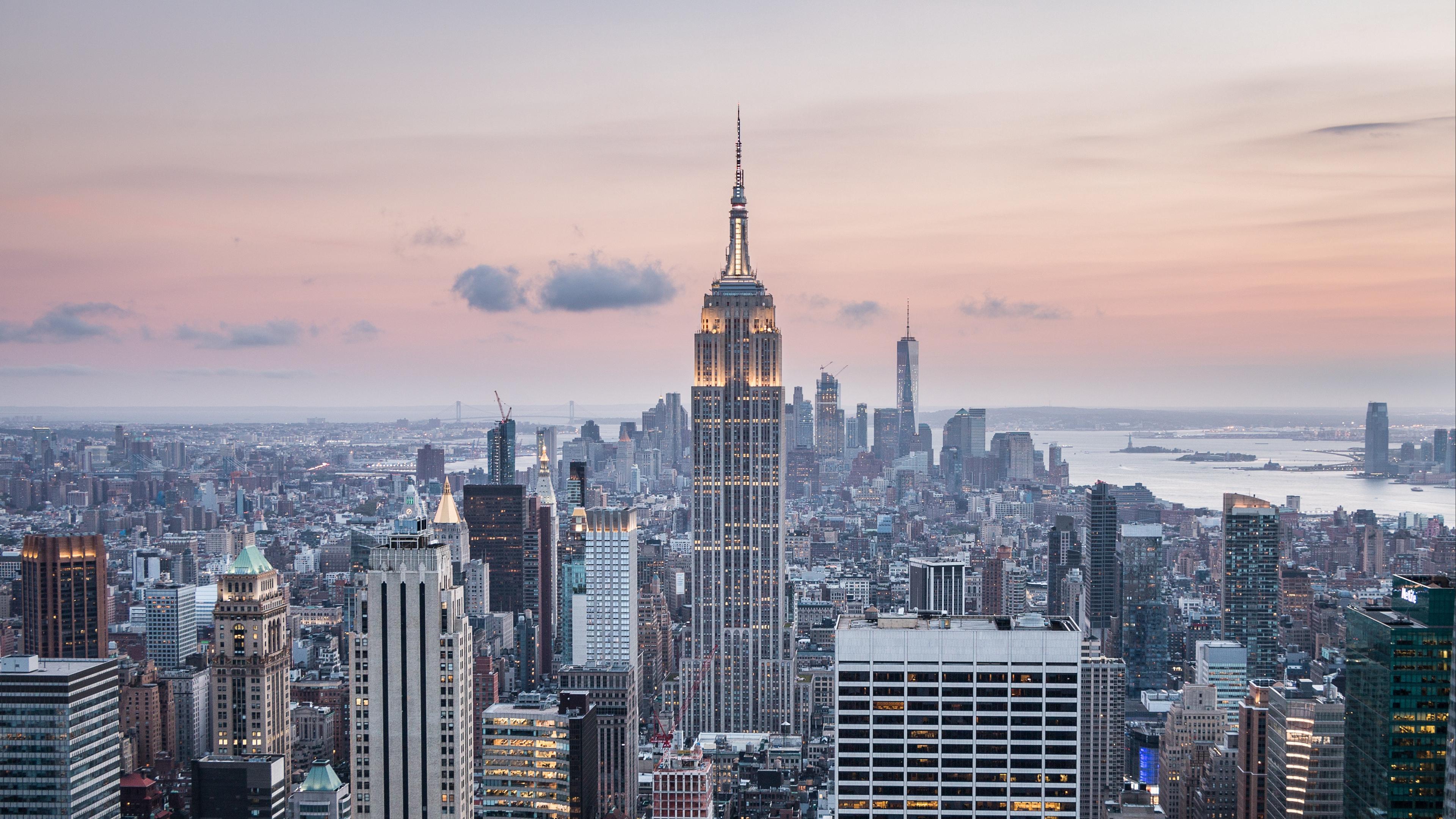 new york usa skyscrapers top view 4k 1538067918 - new york, usa, skyscrapers, top view 4k - USA, Skyscrapers, new york