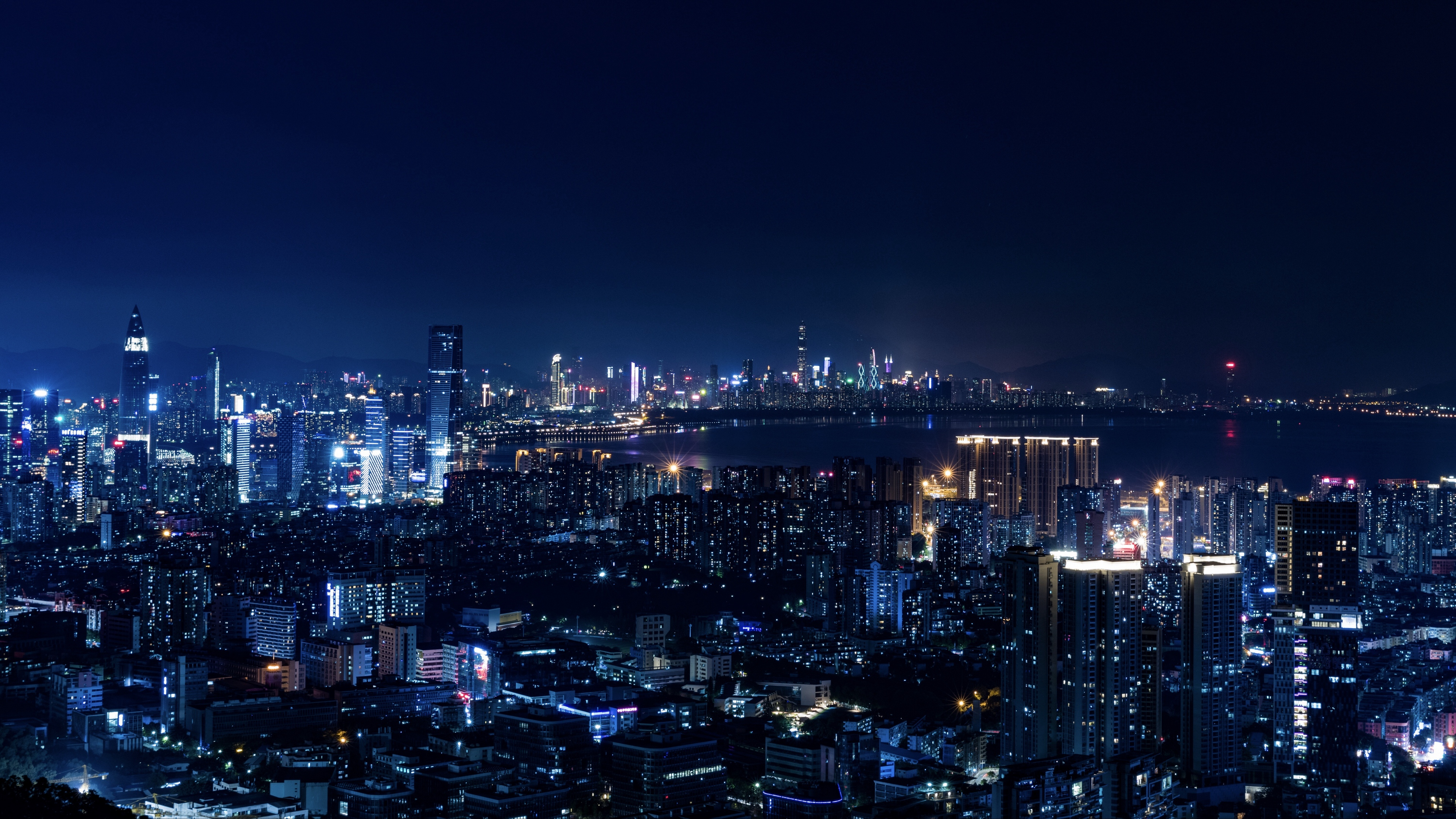 night city city lights metropolis night 4k 1538067561 - night city, city lights, metropolis, night 4k - night city, metropolis, city lights