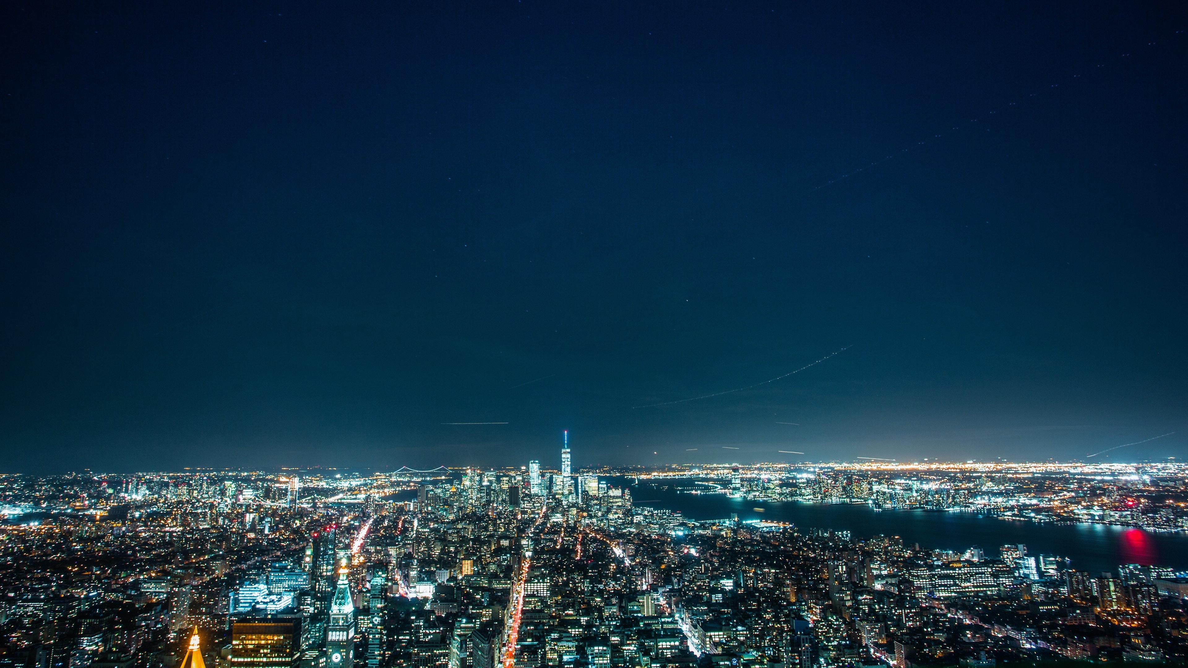 night city night city lights 4k 1538065546 - night city, night, city lights 4k - night city, Night, city lights
