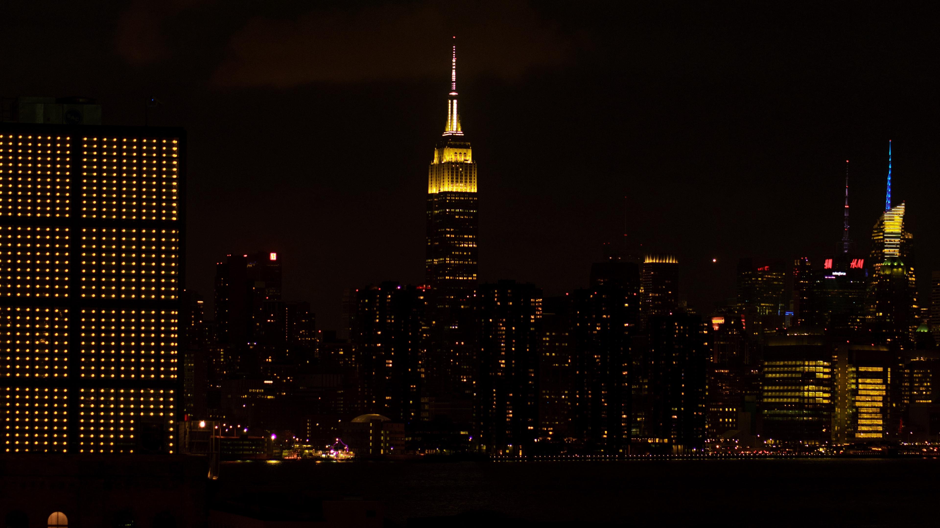 night city skyscraper city lights metropolis new york united states 4k 1538066669 - night city, skyscraper, city lights, metropolis, new york, united states 4k - Skyscraper, night city, city lights
