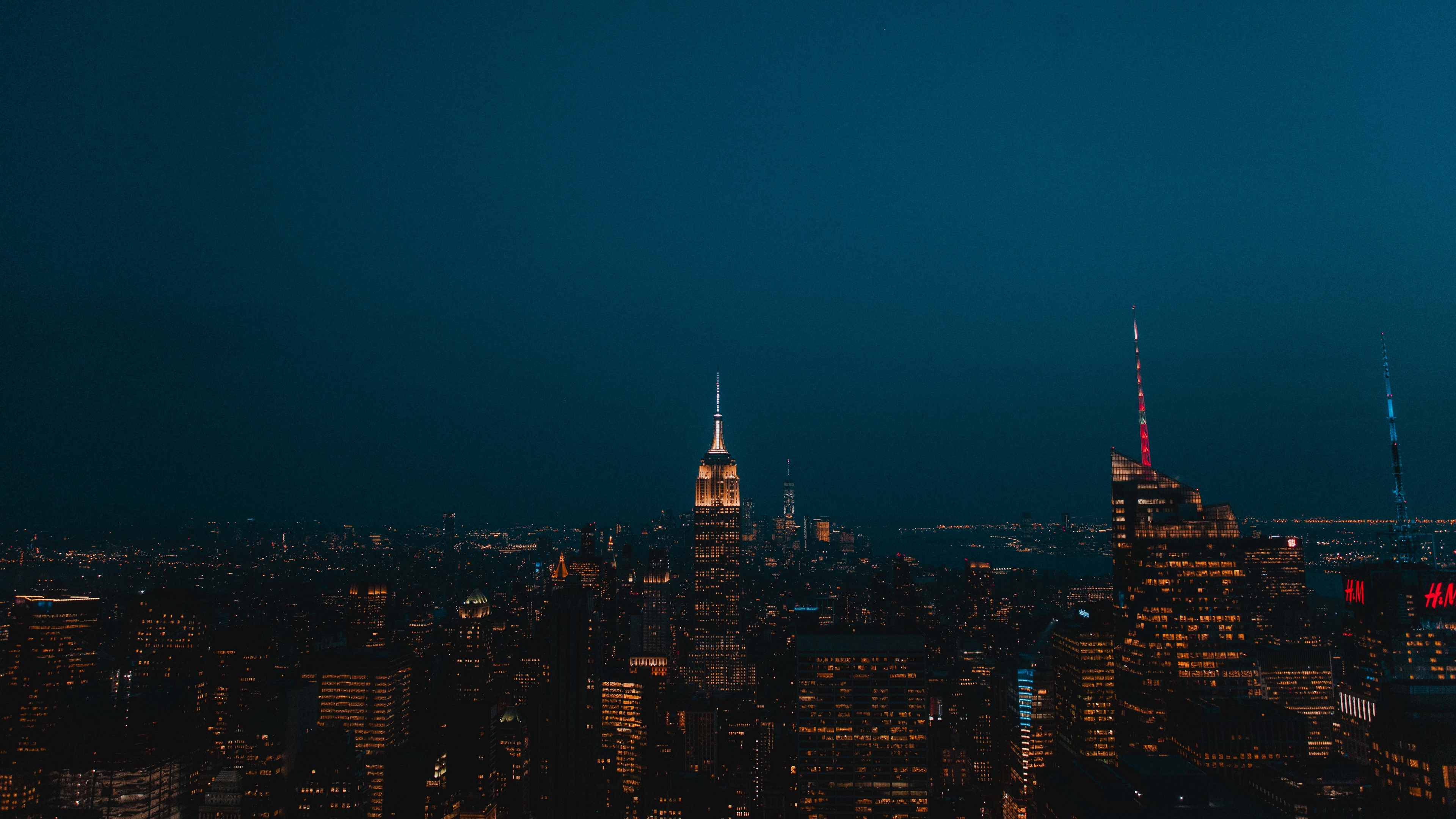 night city skyscrapers city lights new york united states 4k 1538068177 - night city, skyscrapers, city lights, new york, united states 4k - Skyscrapers, night city, city lights
