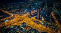 night city view from above intersection roads skyscrapers dubai 4k 1538066300 200x110 - night city, view from above, intersection, roads, skyscrapers, dubai 4k - view from above, night city, intersection