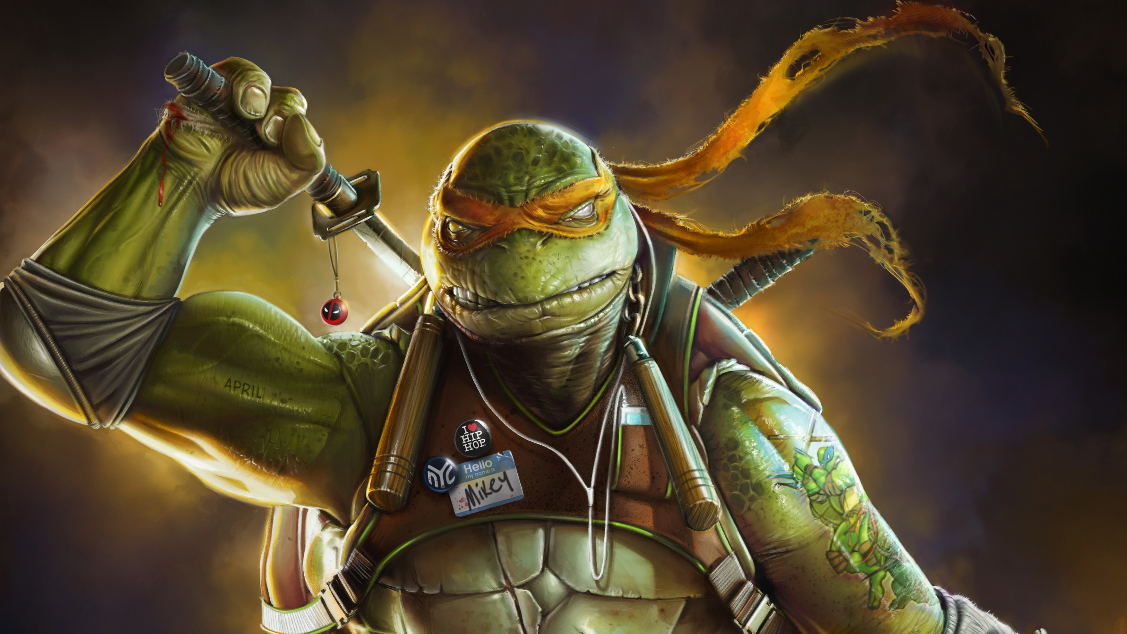 Wallpaper 4k Ninja Turtle Art 4k Wallpapers Artist