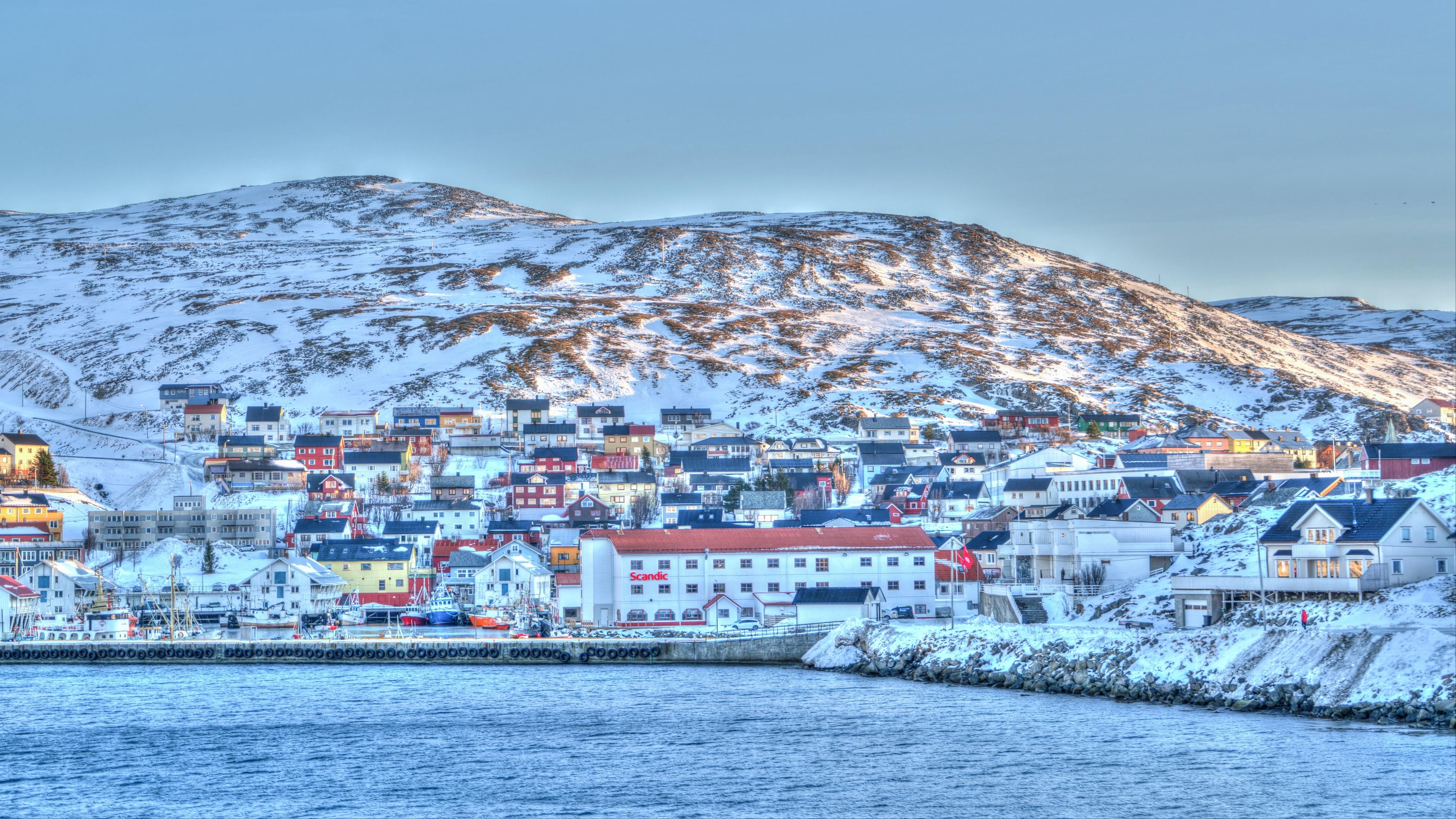 norway coast sea scandinavia harbor 4k 1538065473 - norway, coast, sea, scandinavia, harbor 4k - Sea, Norway, Coast
