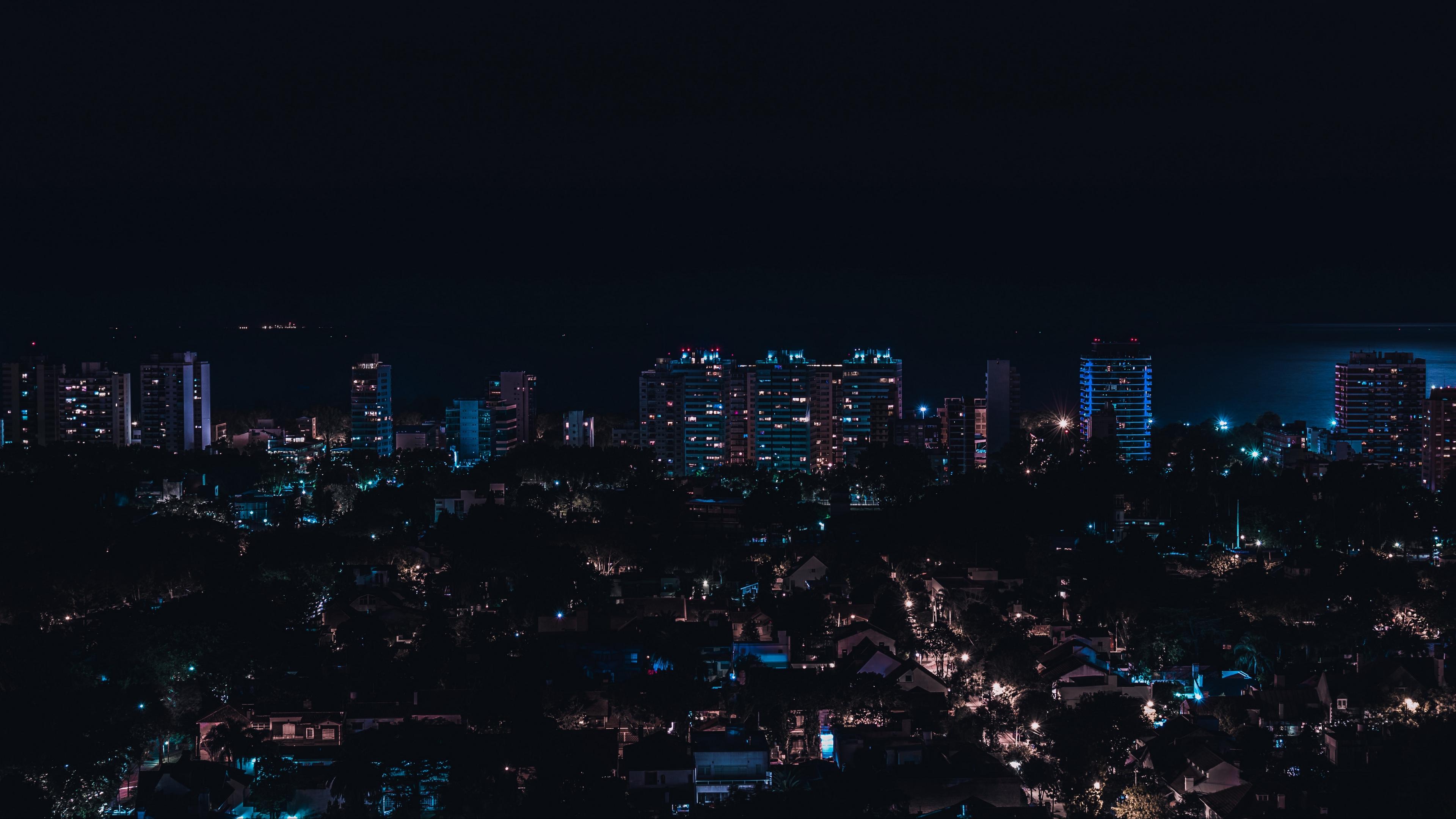 olivos argentina night city buildings city lights 4k 1538068883 - olivos, argentina, night city, buildings, city lights 4k - olivos, night city, Argentina