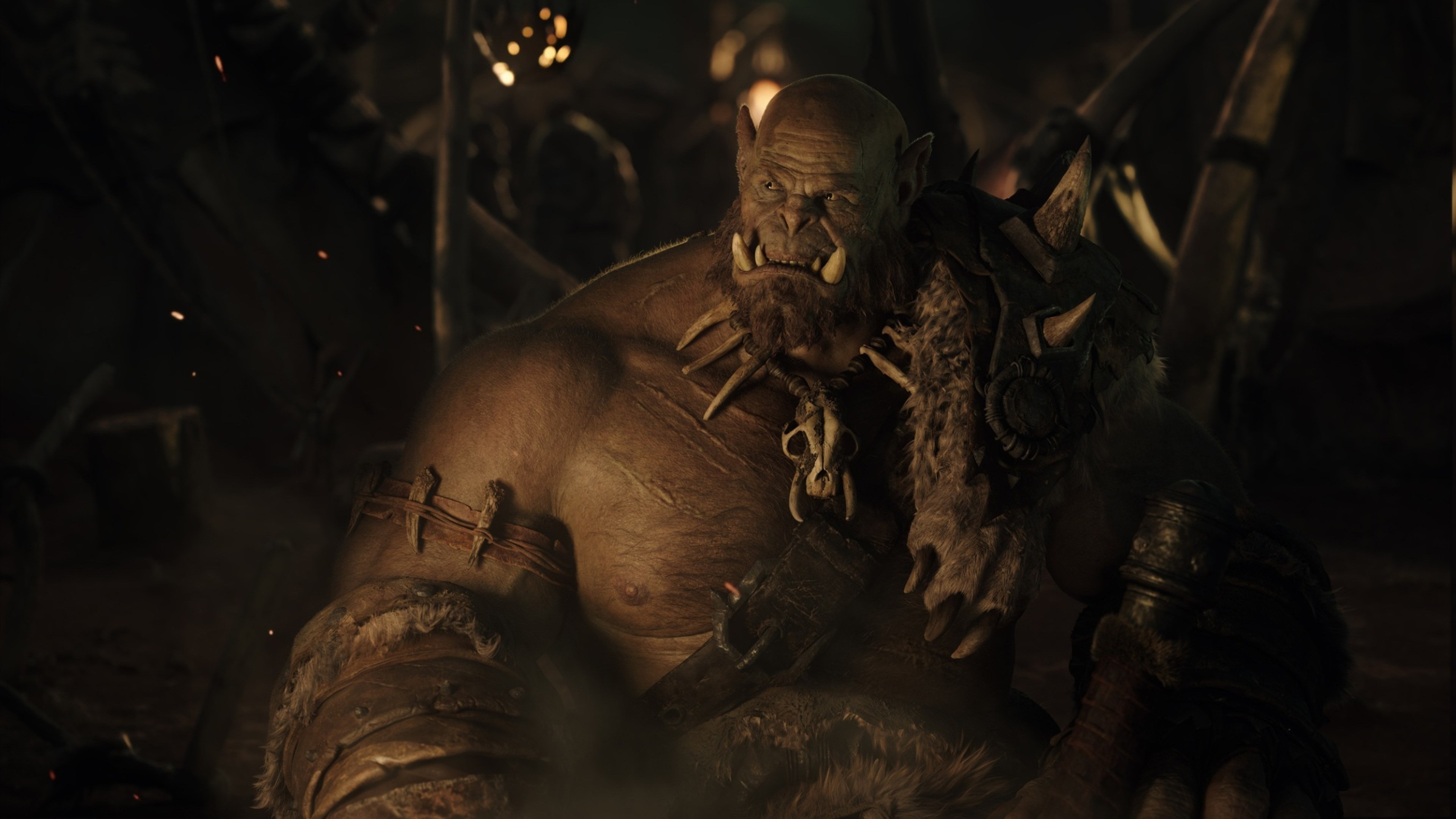 Wallpaper 4k Orgrim In Warcraft 2016 Movies Wallpapers