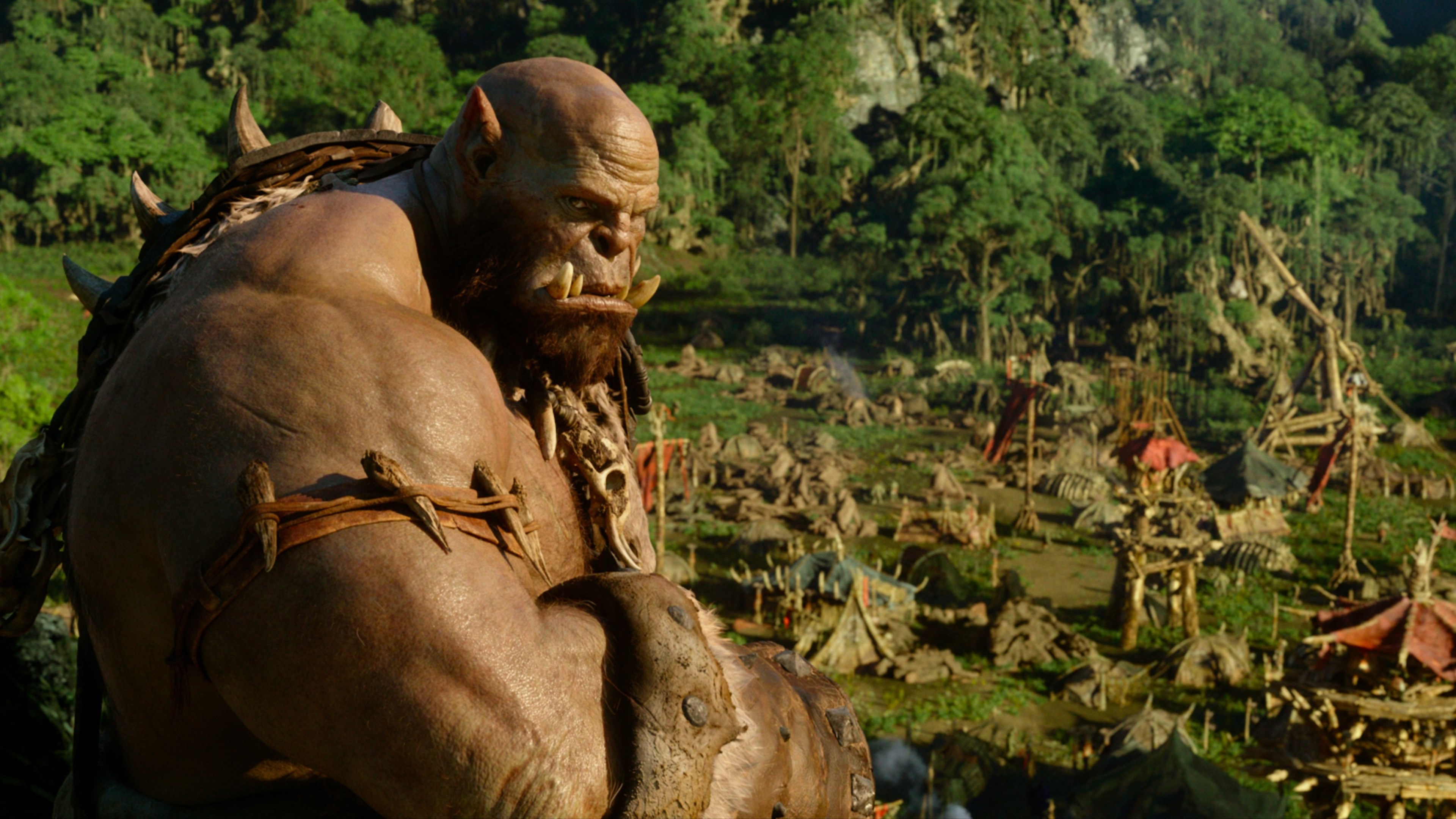 Wallpaper 4k Orgrim Warcraft 2016 2016 Movies Wallpapers Movies