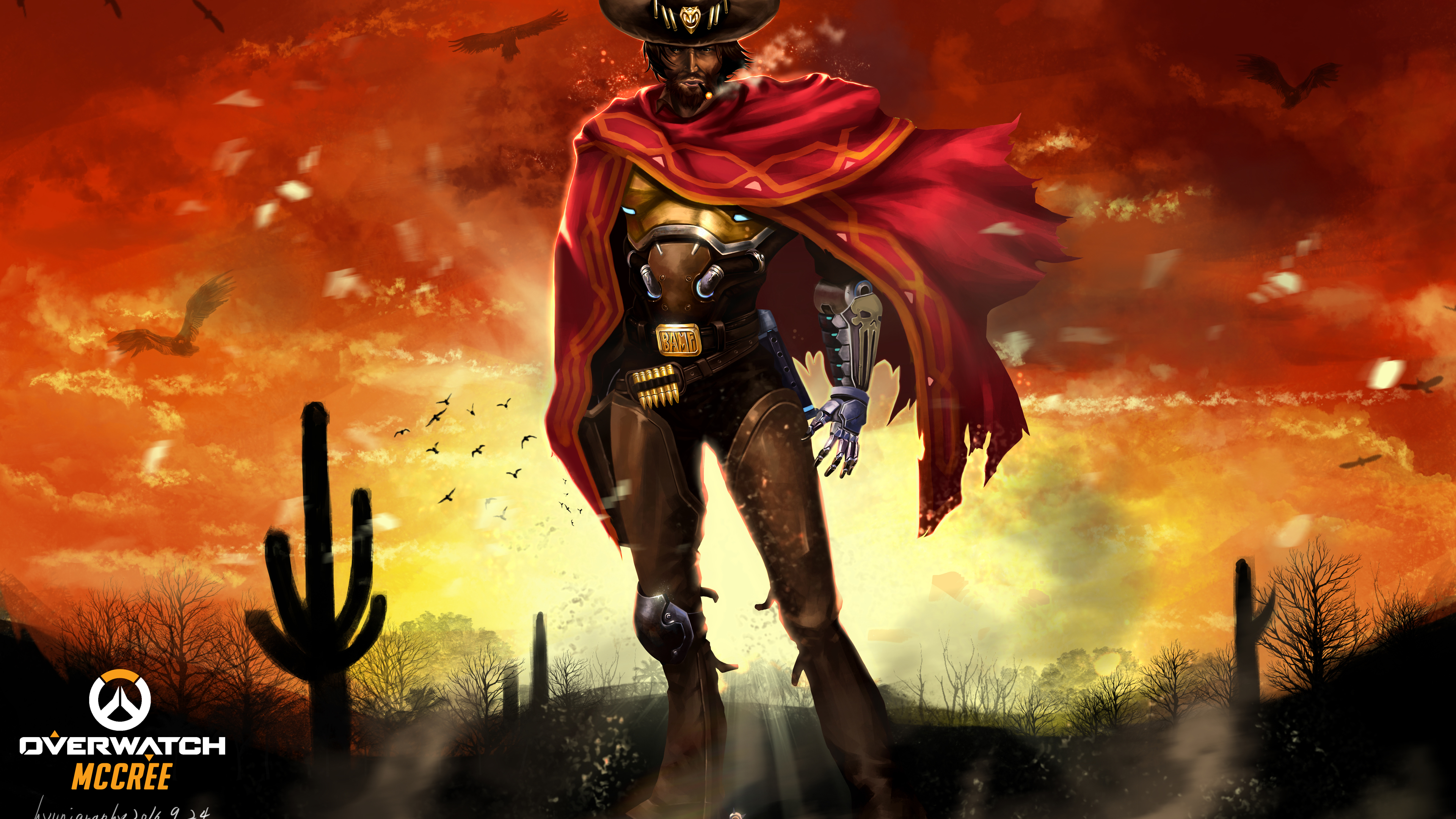 Overwatch McCree 8k xbox games wallpapers, ps games ...