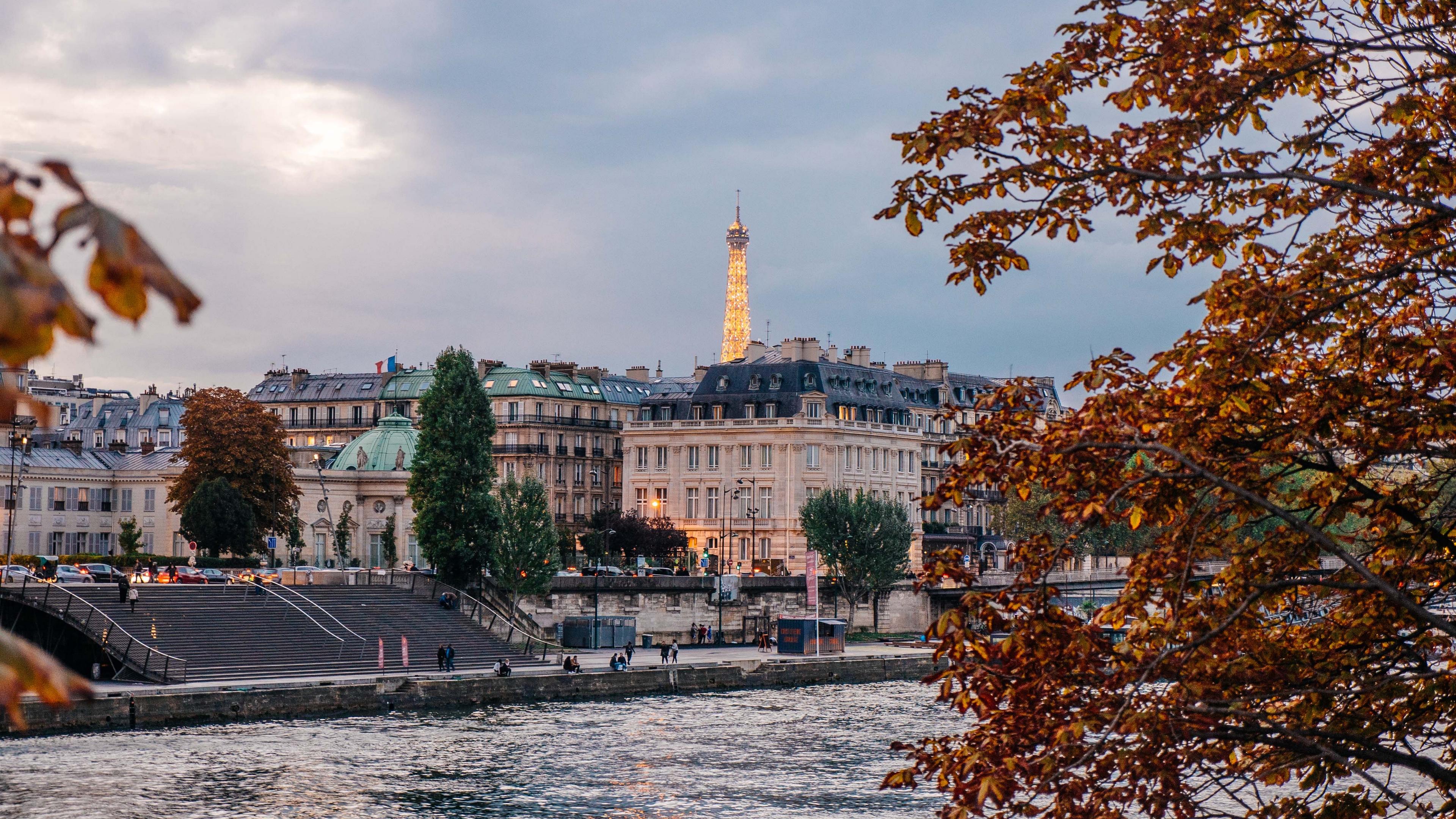 paris france river quay 4k 1538064905 - paris, france, river, quay 4k - River, Paris, France