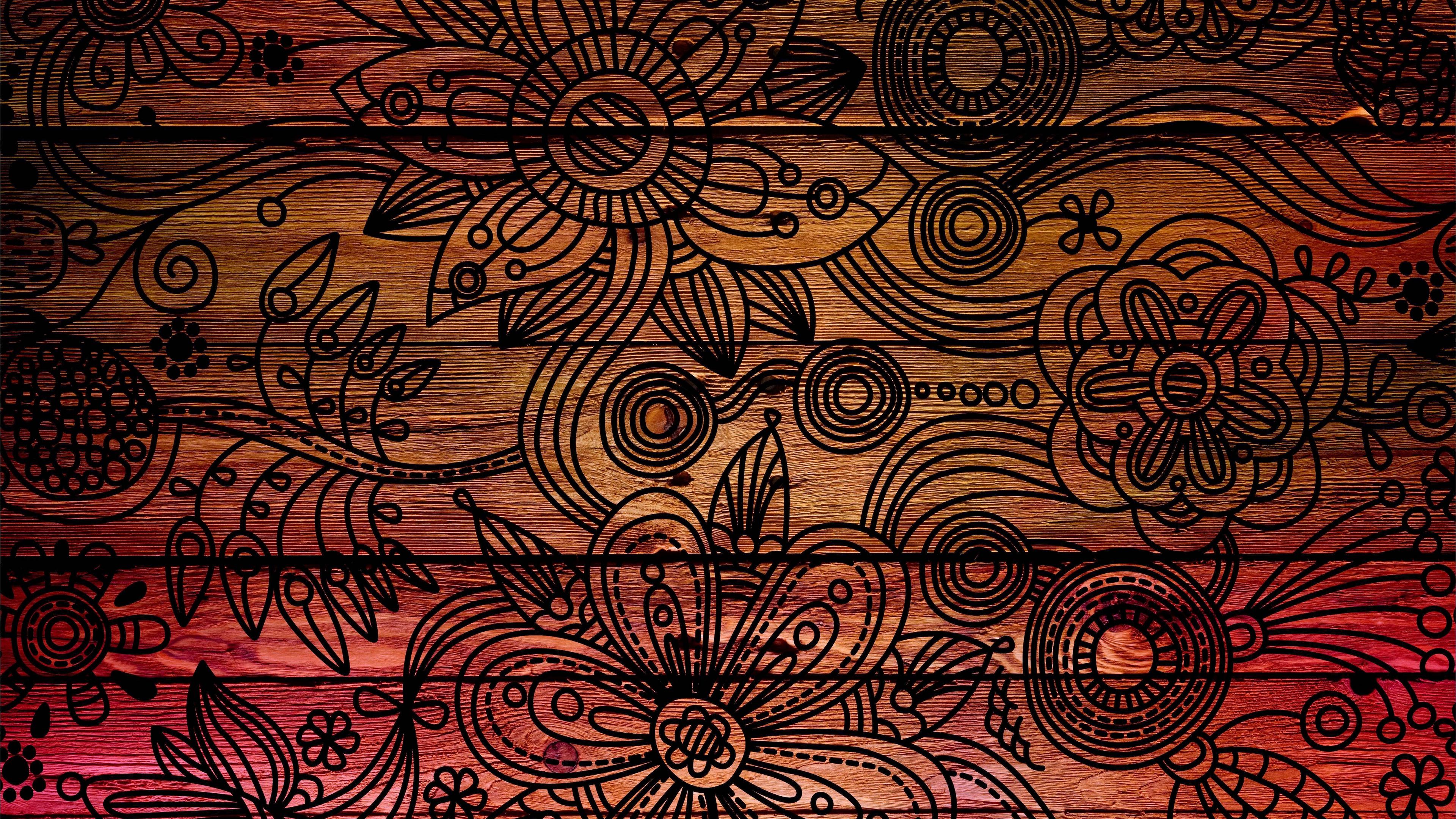 patterns background dark wooden texture 4k 1536097900 - patterns, background, dark, wooden, texture 4k - patterns, Dark, Background