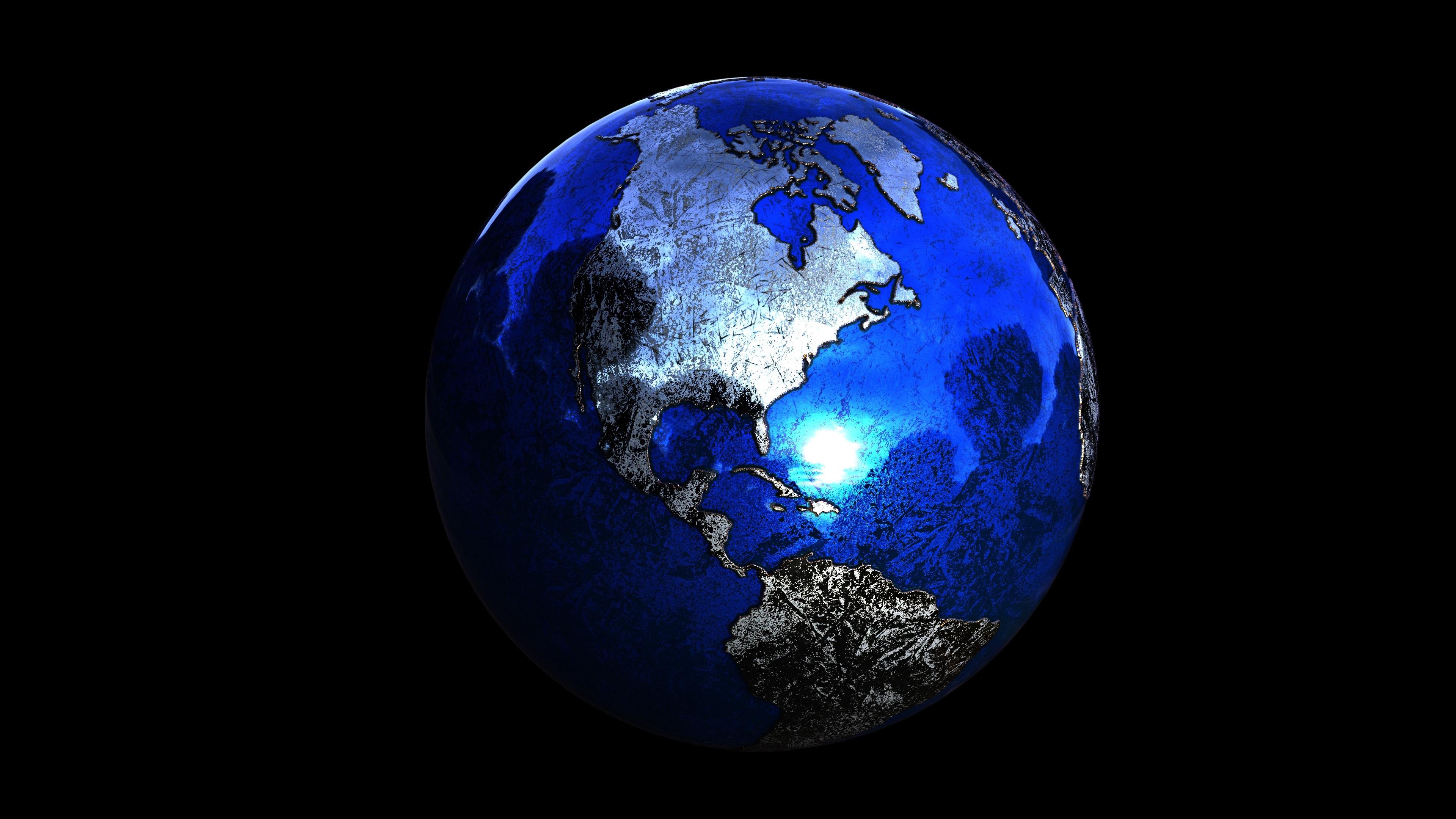 planet sphere globe 3d 4k 1536854862 - planet, sphere, globe, 3d 4k - Sphere, Planet, Globe