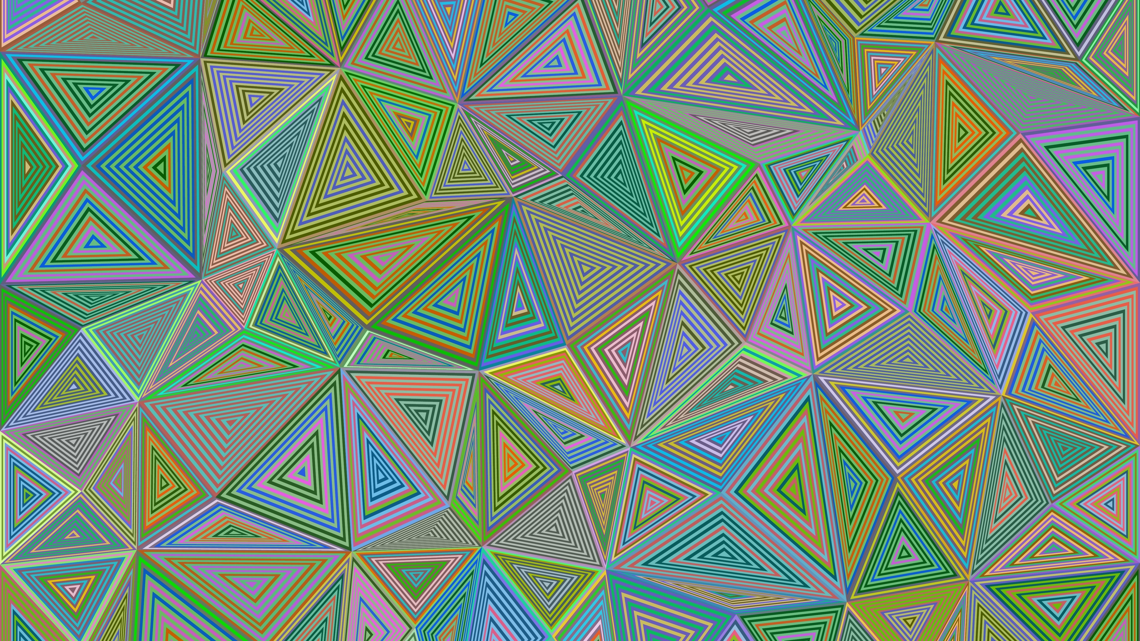 polygon triangle illusion geometric 4k 1536854809 - polygon, triangle, illusion, geometric 4k - Triangle, polygon, Illusion
