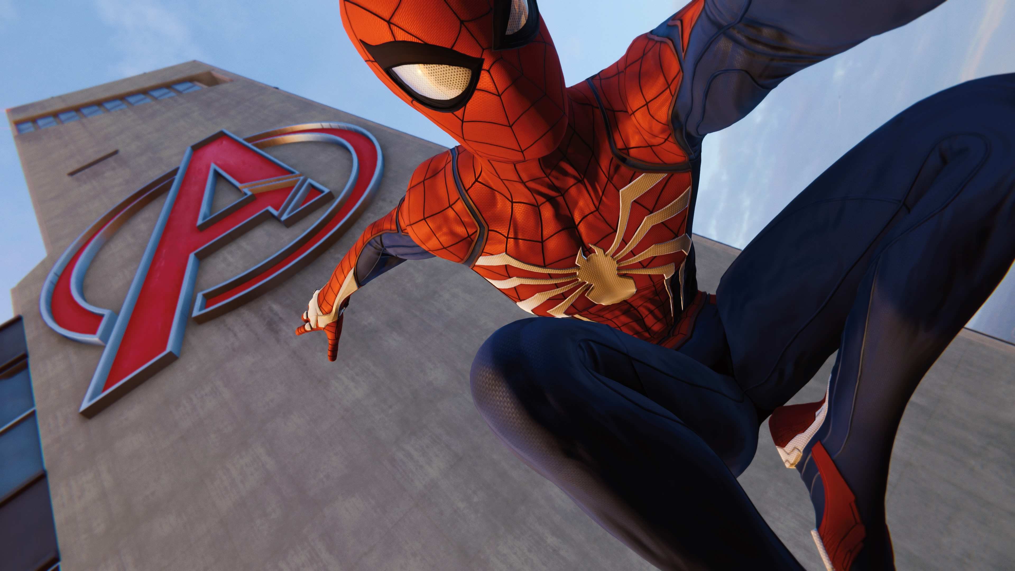 ps4 pro spiderman avengers tower 1537692541 - Ps4 Pro Spiderman Avengers Tower - superheroes wallpapers, spiderman wallpapers, spiderman ps4 wallpapers, ps4 games wallpapers, ps games wallpapers, hd-wallpapers, games wallpapers, 4k-wallpapers