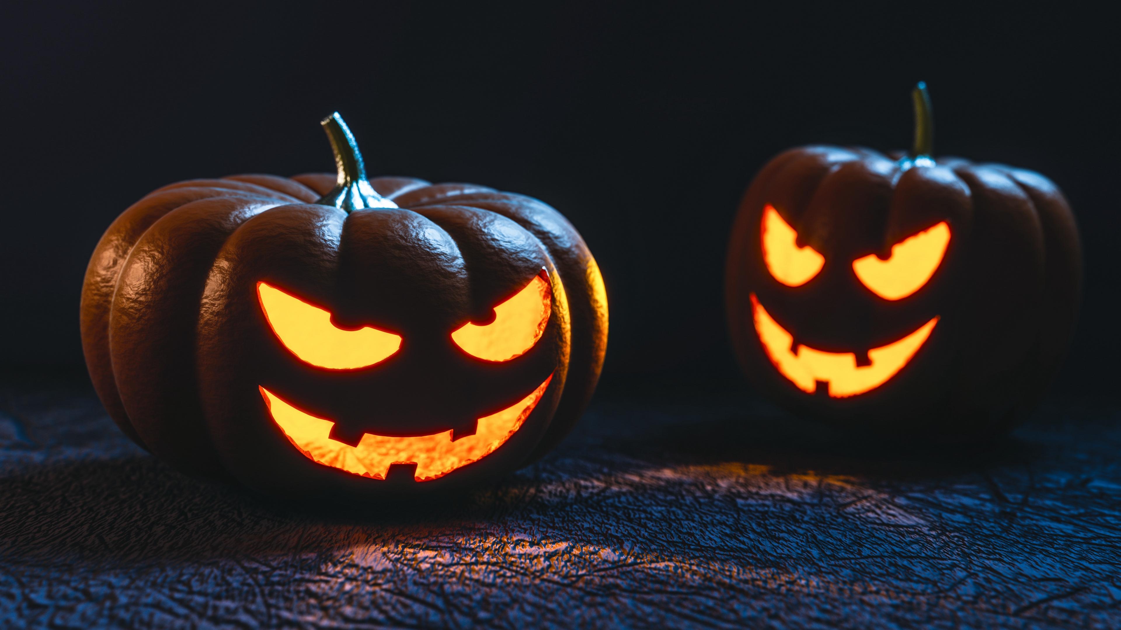 pumpkin halloween mask 4k 1538344864 - pumpkin, halloween, mask 4k - pumpkin, Mask, halloween