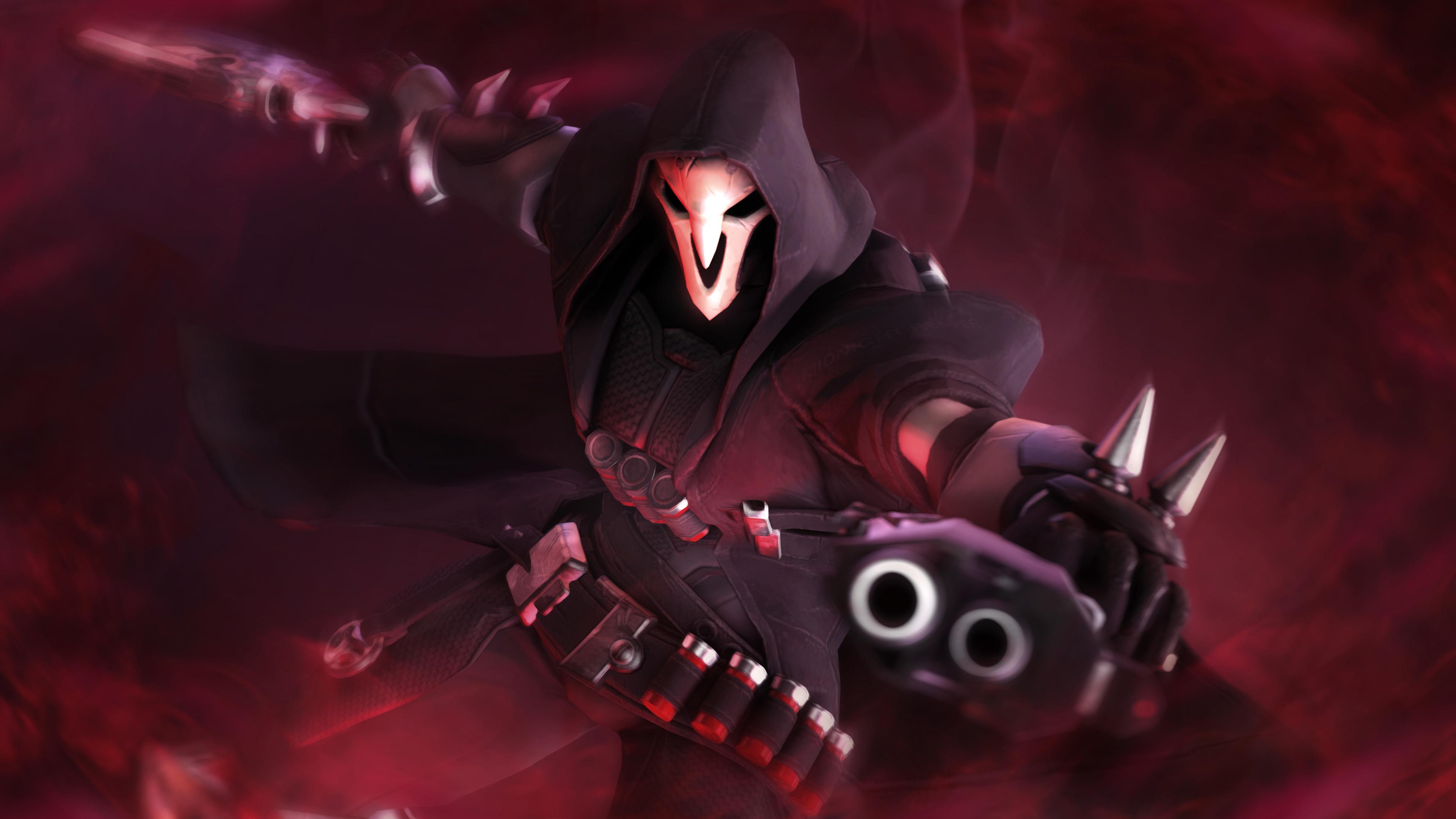 2048x2048 Sombra Overwatch Hd Ipad Air Hd 4k Wallpapers: Reaper Overwatch 5k Xbox Games Wallpapers, Reaper