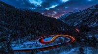 road light sky forest mountains snow 4k 1538345388 200x110 - road, light, sky, forest, mountains, snow 4k - Sky, Road, Light