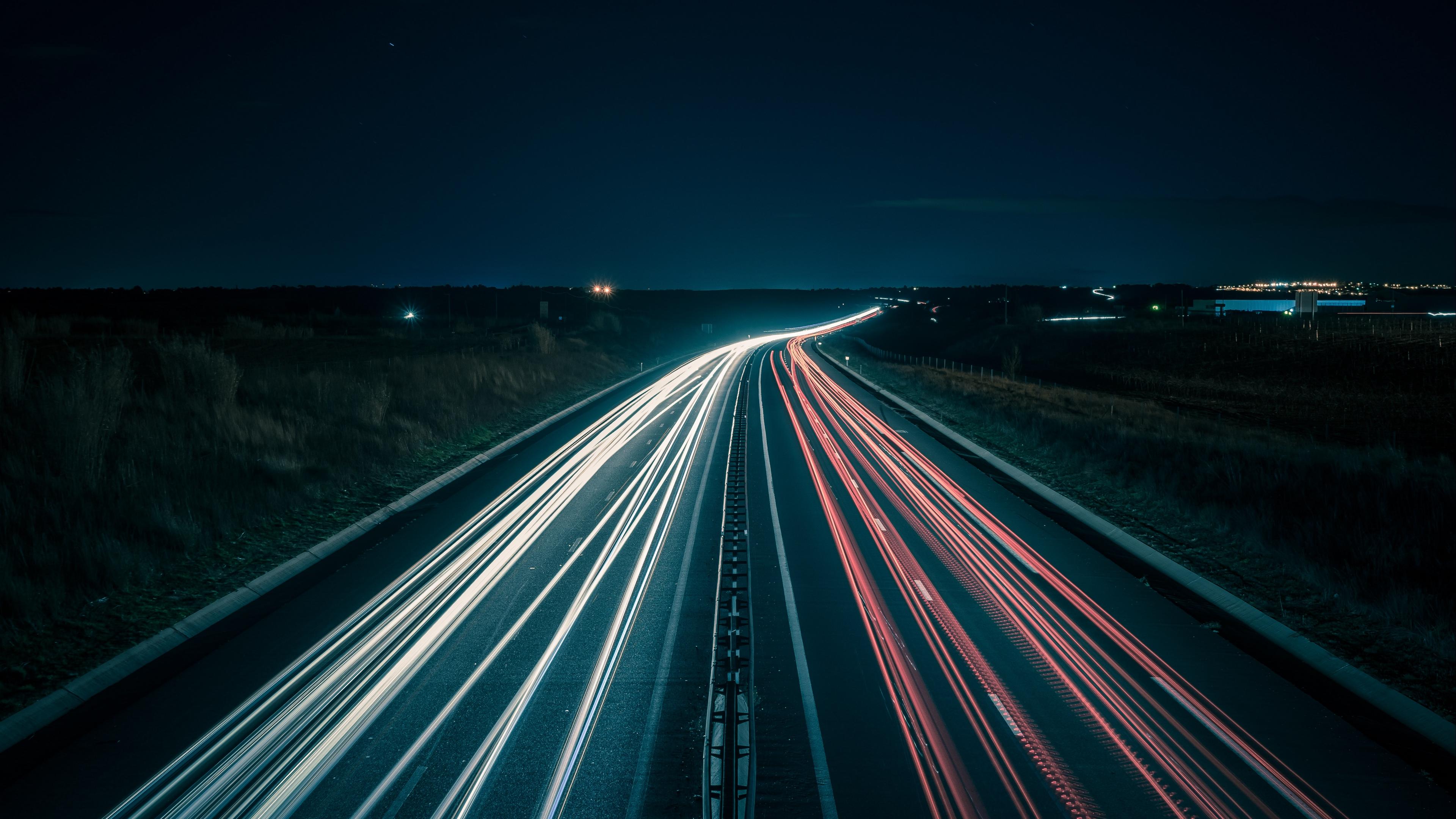 road lighting night 4k 1538068835 - road, lighting, night 4k - Road, Night, Lighting